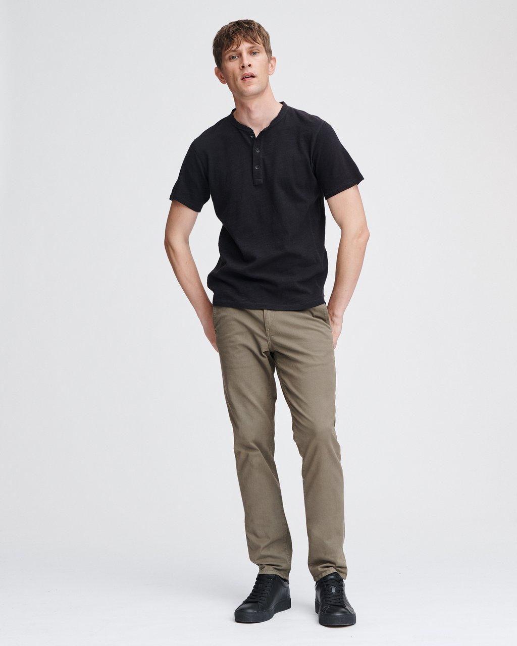 Classic Cotton Henley