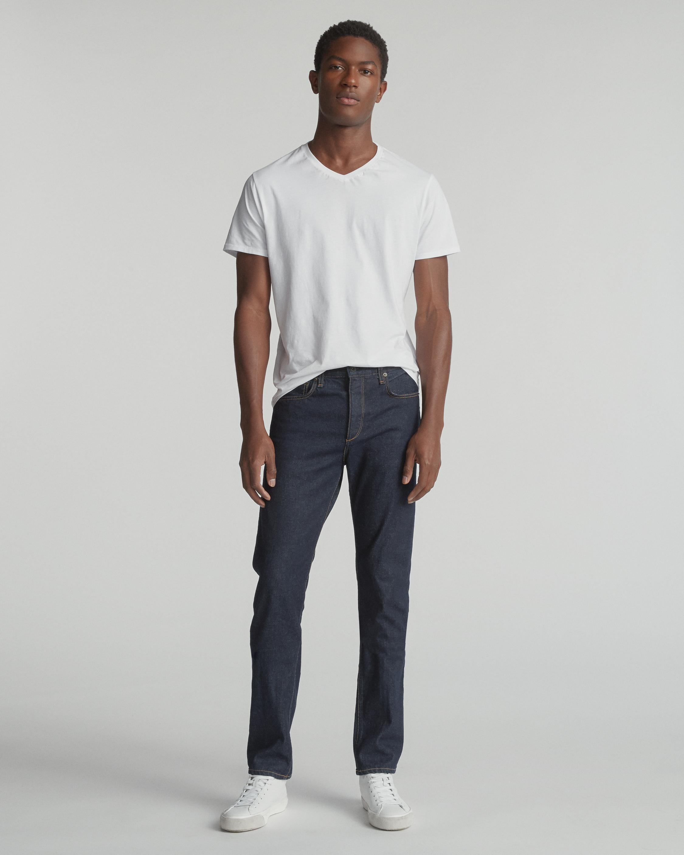 FIT 3 IN INDIGO RINSE SELVEDGE