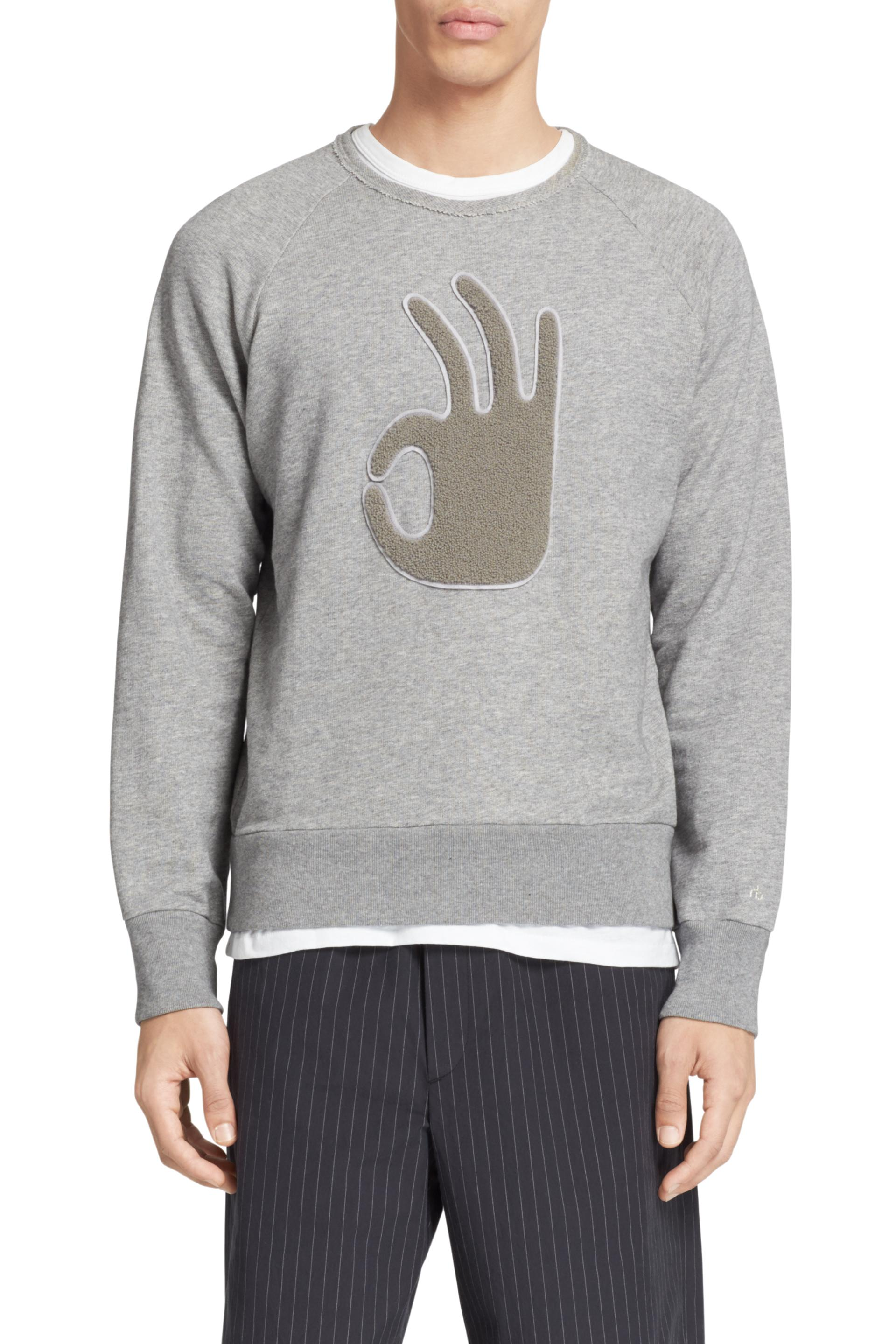 Okay Sweatshirt Men Tops Rag Bone