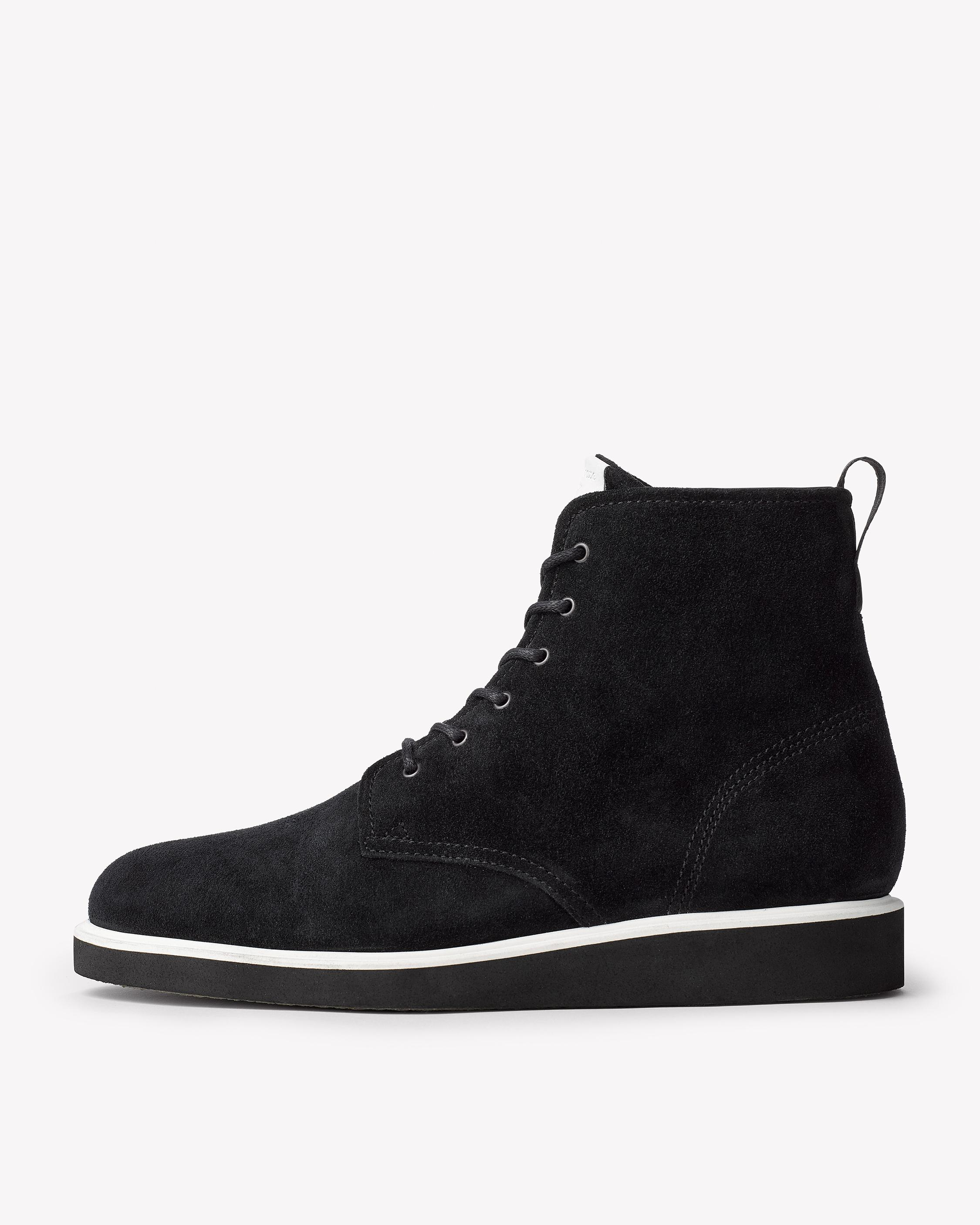 Rag & Bone Black Elliot Boots