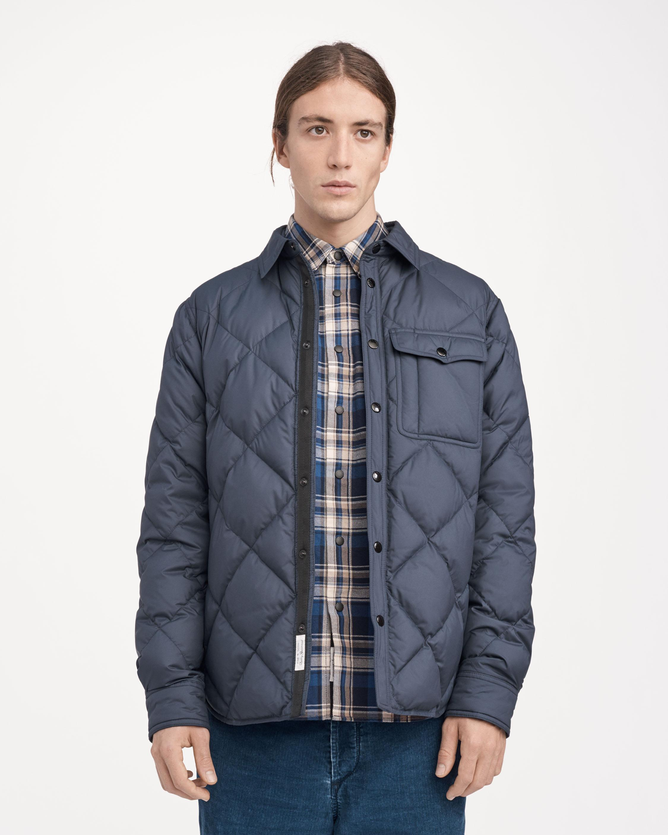 rag shirt jacket men jackets mens quilt bone coats mallory sale quilted