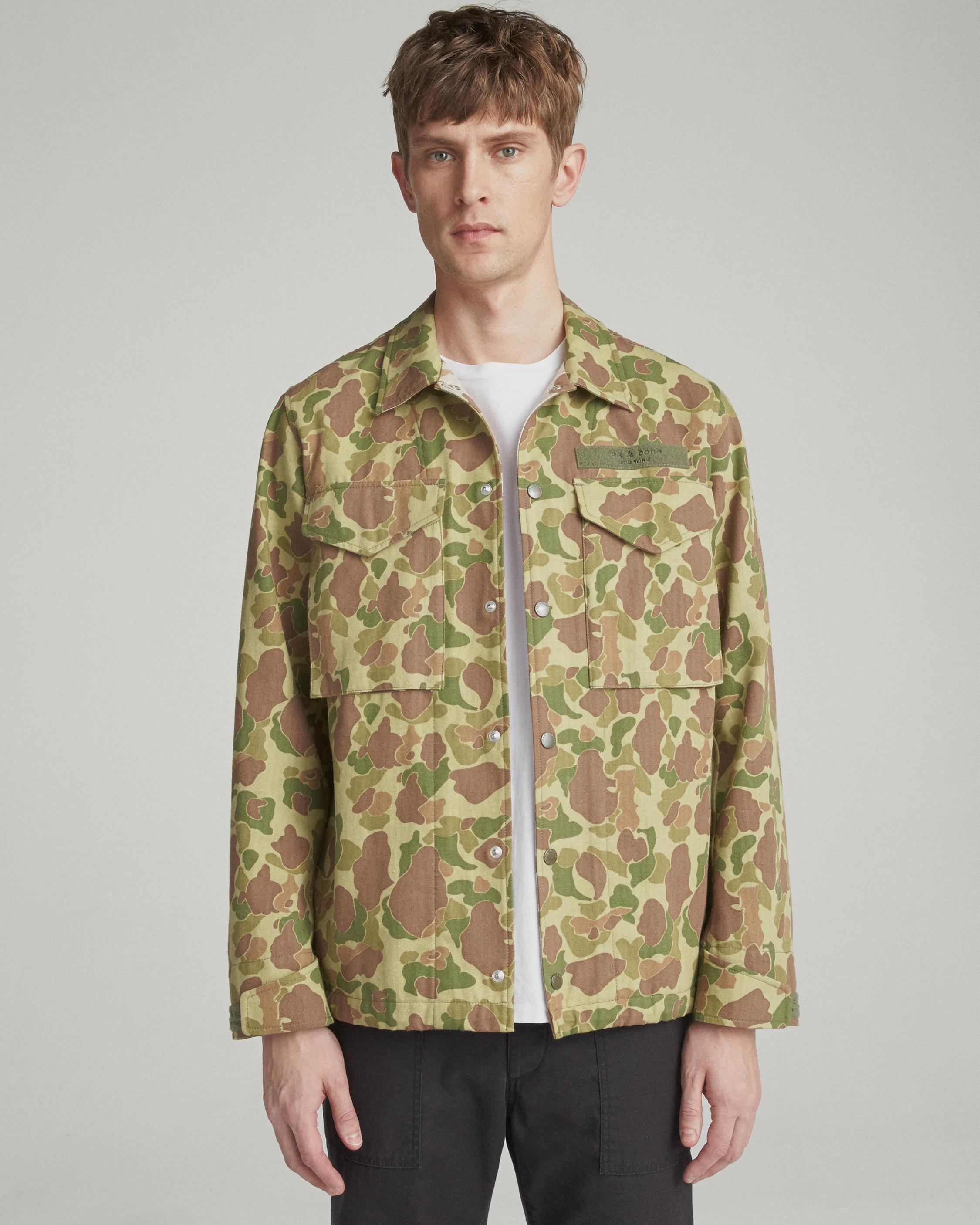 88ae9398 Flight Shirt Jacket | Men Coats & Jackets | rag & bone