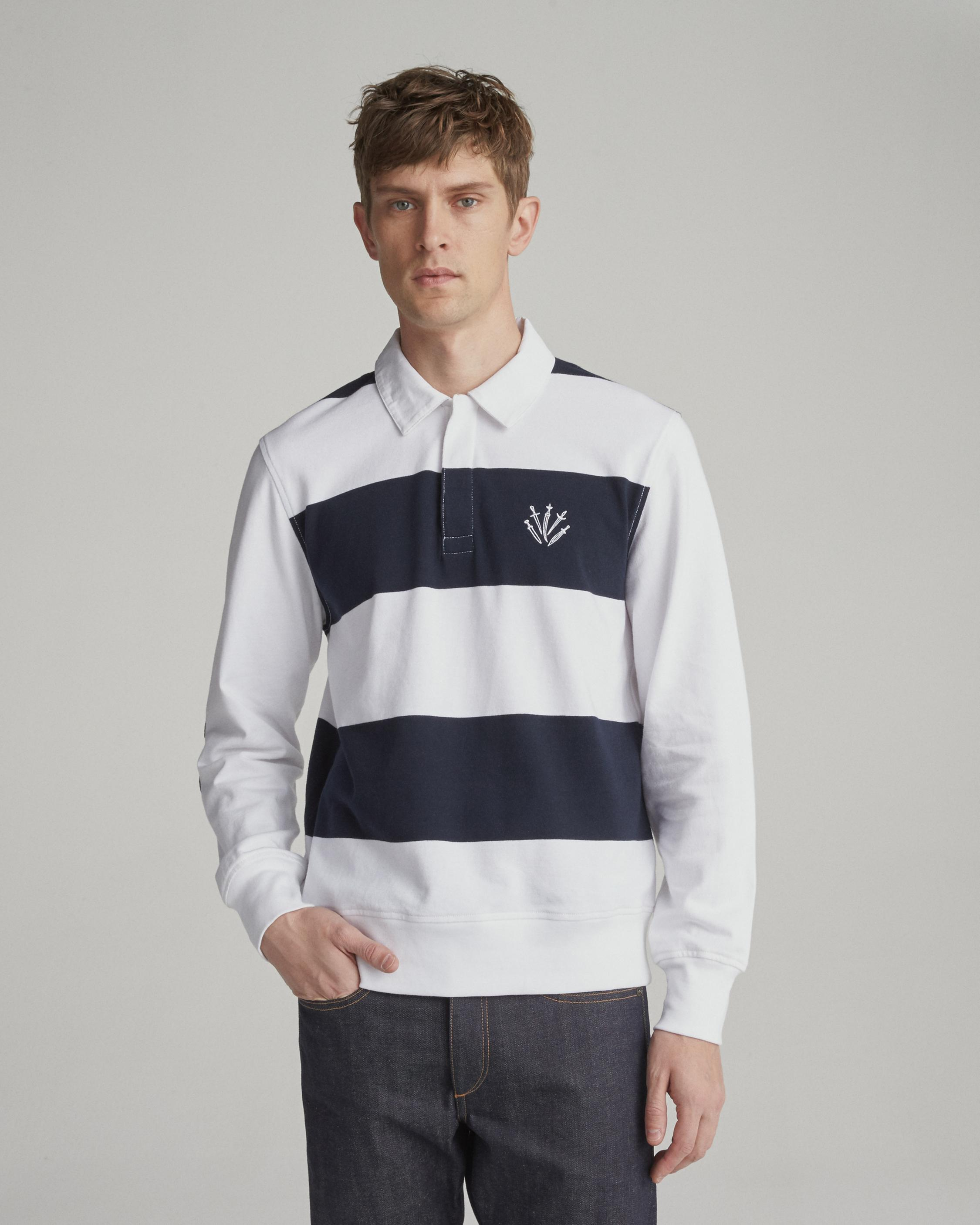 L/S RUGBY POLO