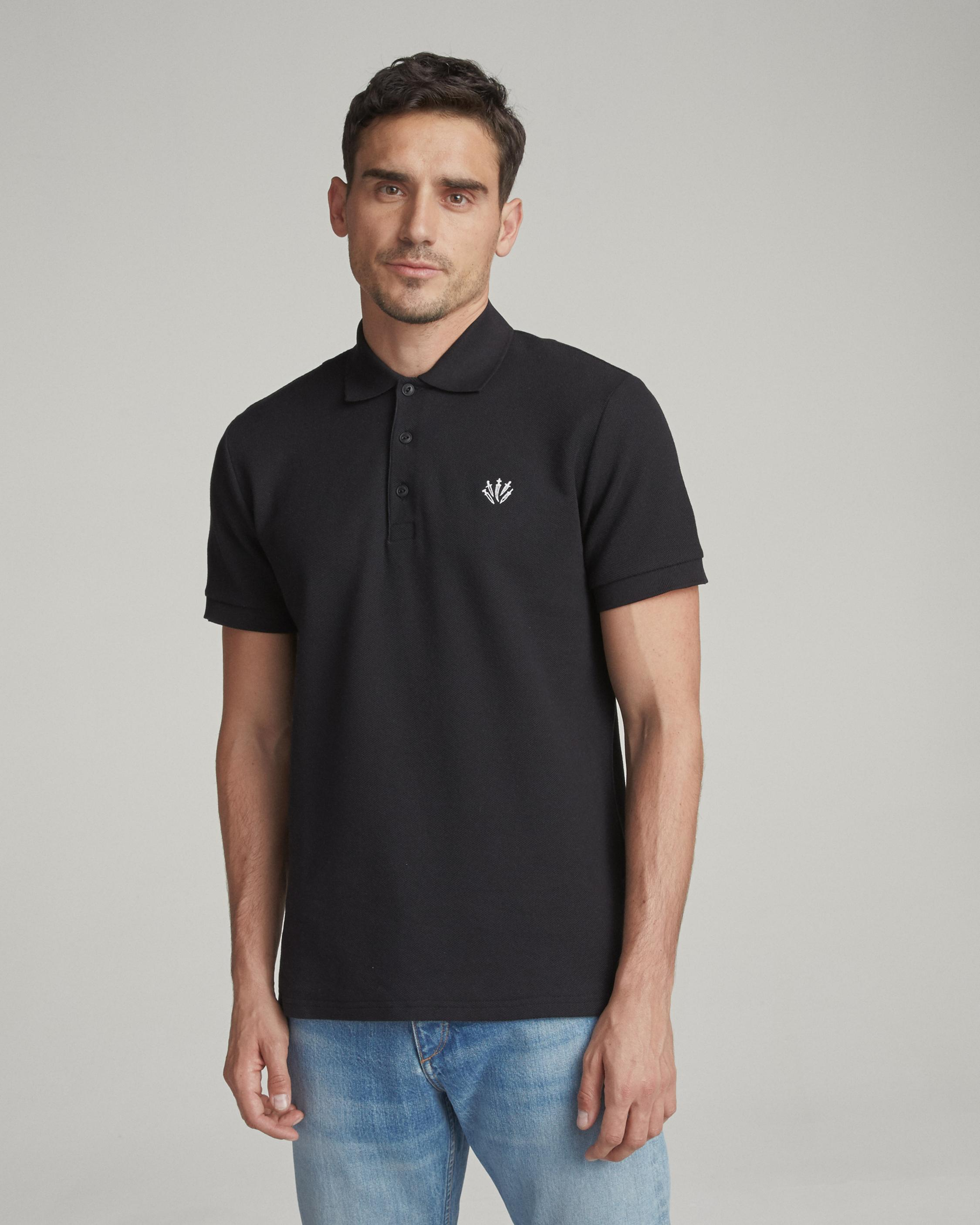 Rag & Bone Woman Cotton Piqué T-shirt Black Size S Rag & Bone Discount Lowest Price Buy Cheap Genuine dwZ9LFZTfT