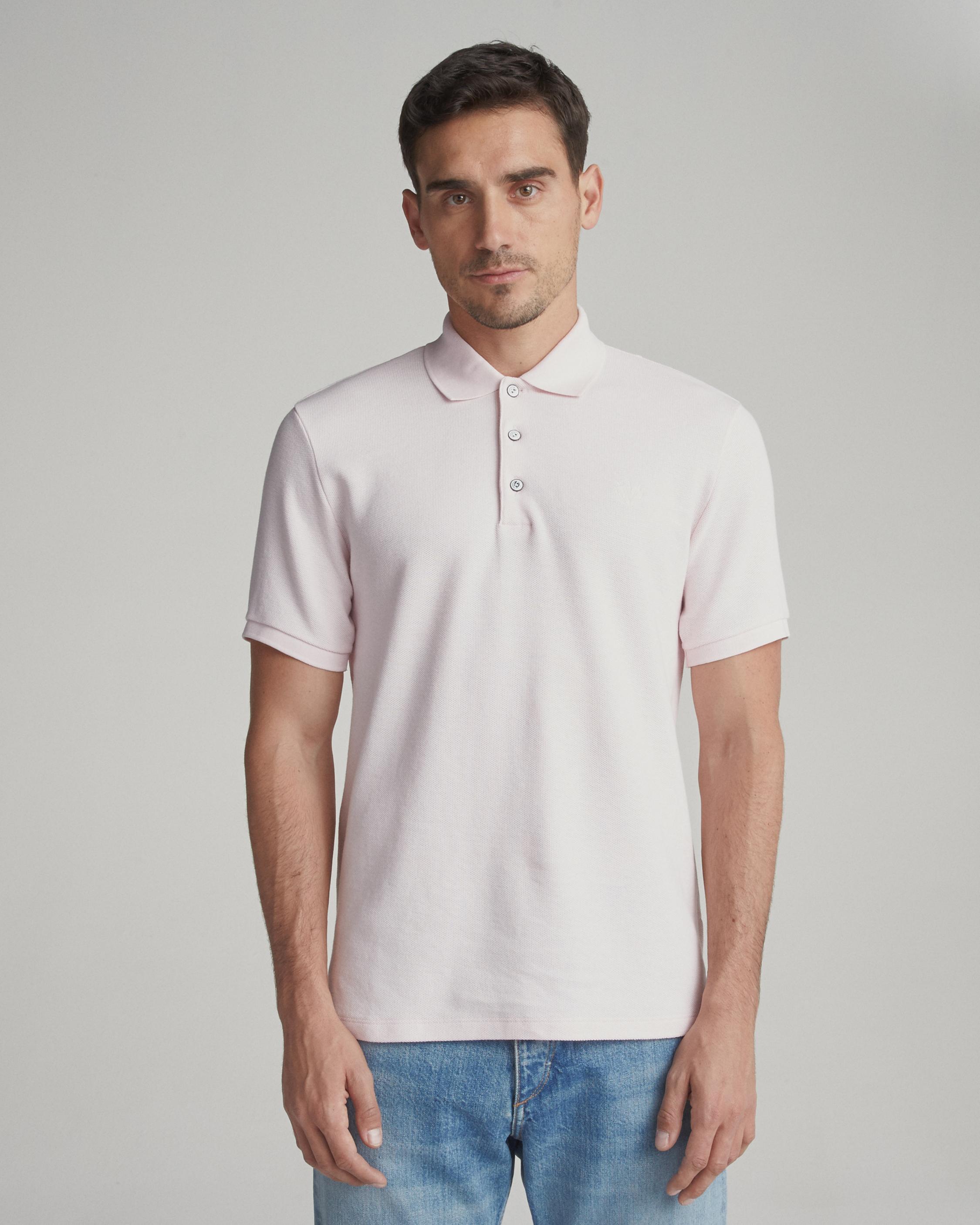 Pique Polo Men Shirts Rag Bone