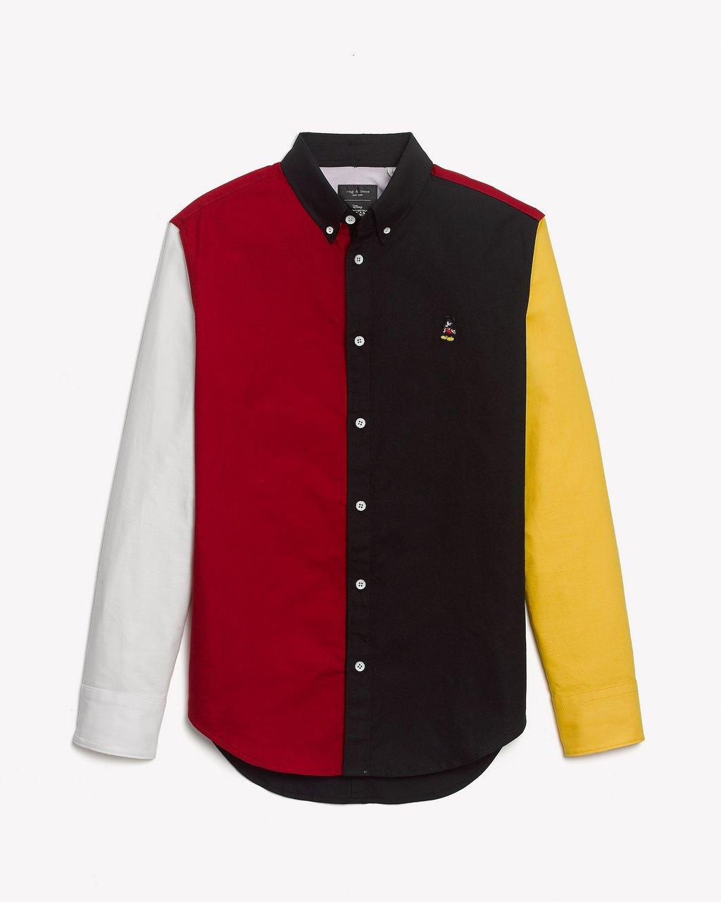 MICKEY FIT 2 TOMLIN OXFORD COLORBLOCK