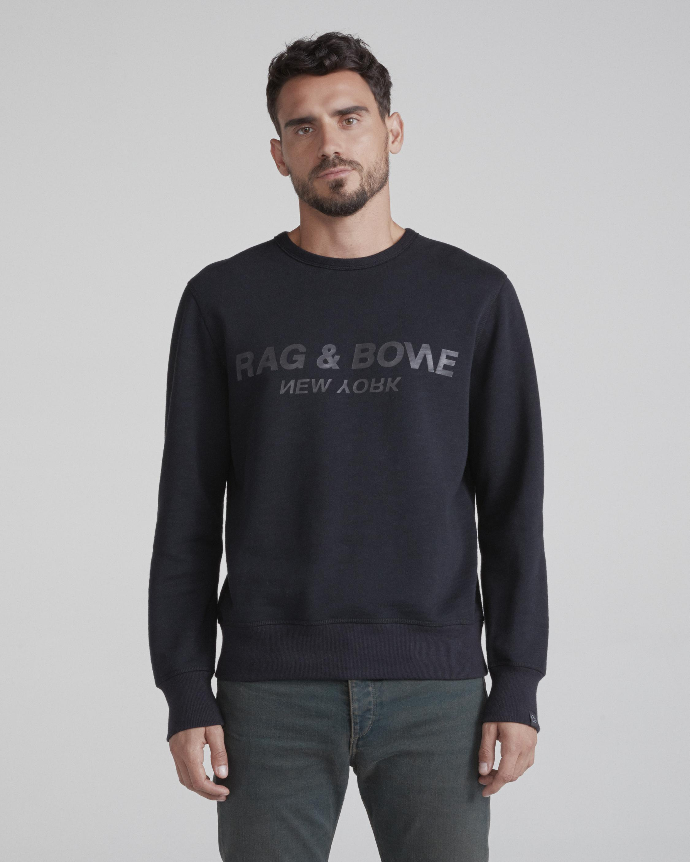 RAG & BONE UPSIDE DOWN SWEATSHIRT