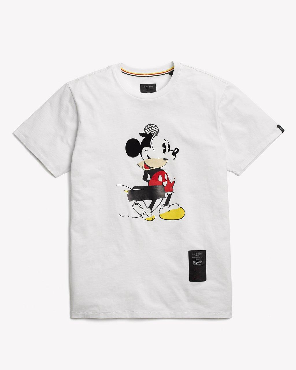 MICKEY COLLAGE TEE