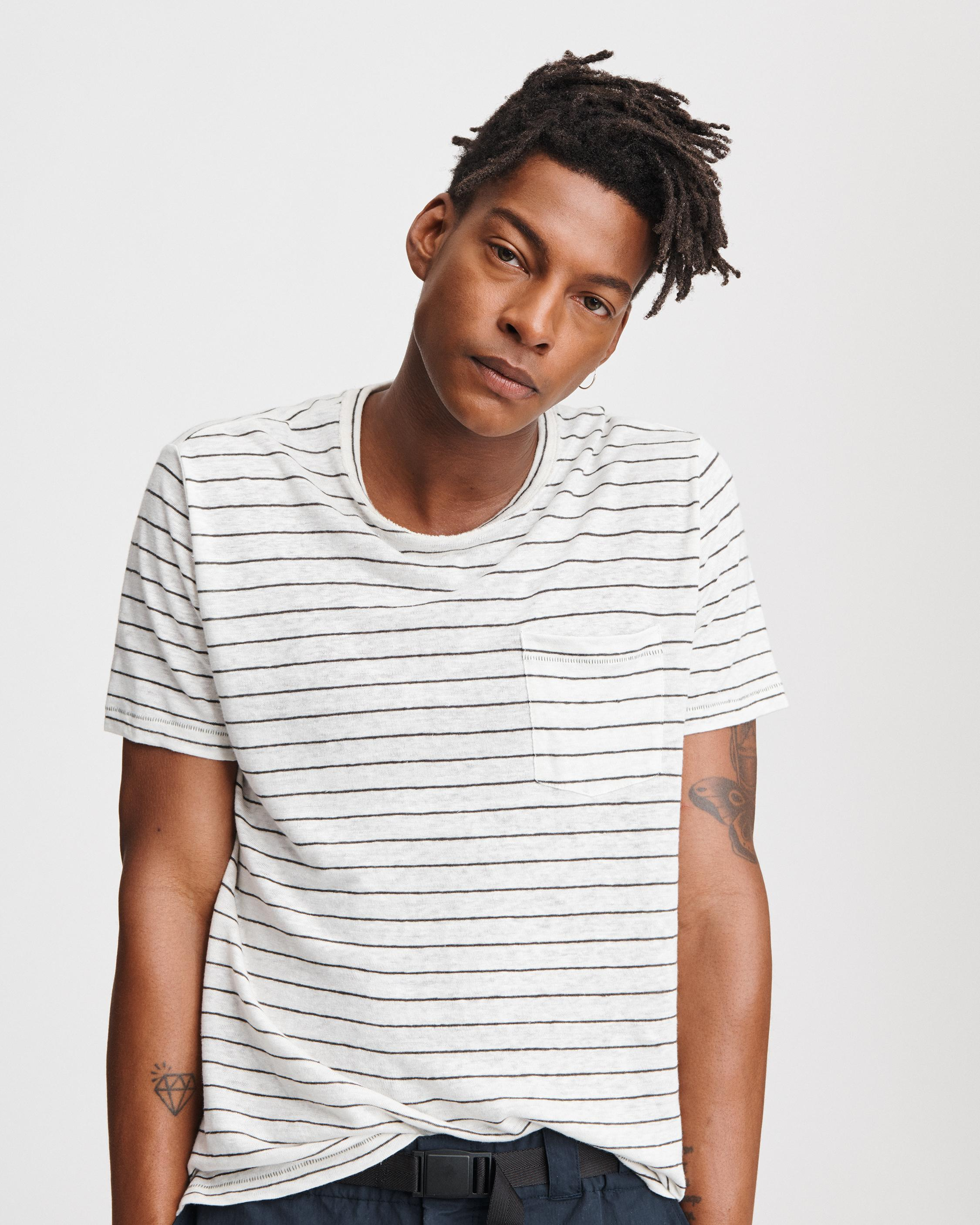 STRIPE OWEN TEE
