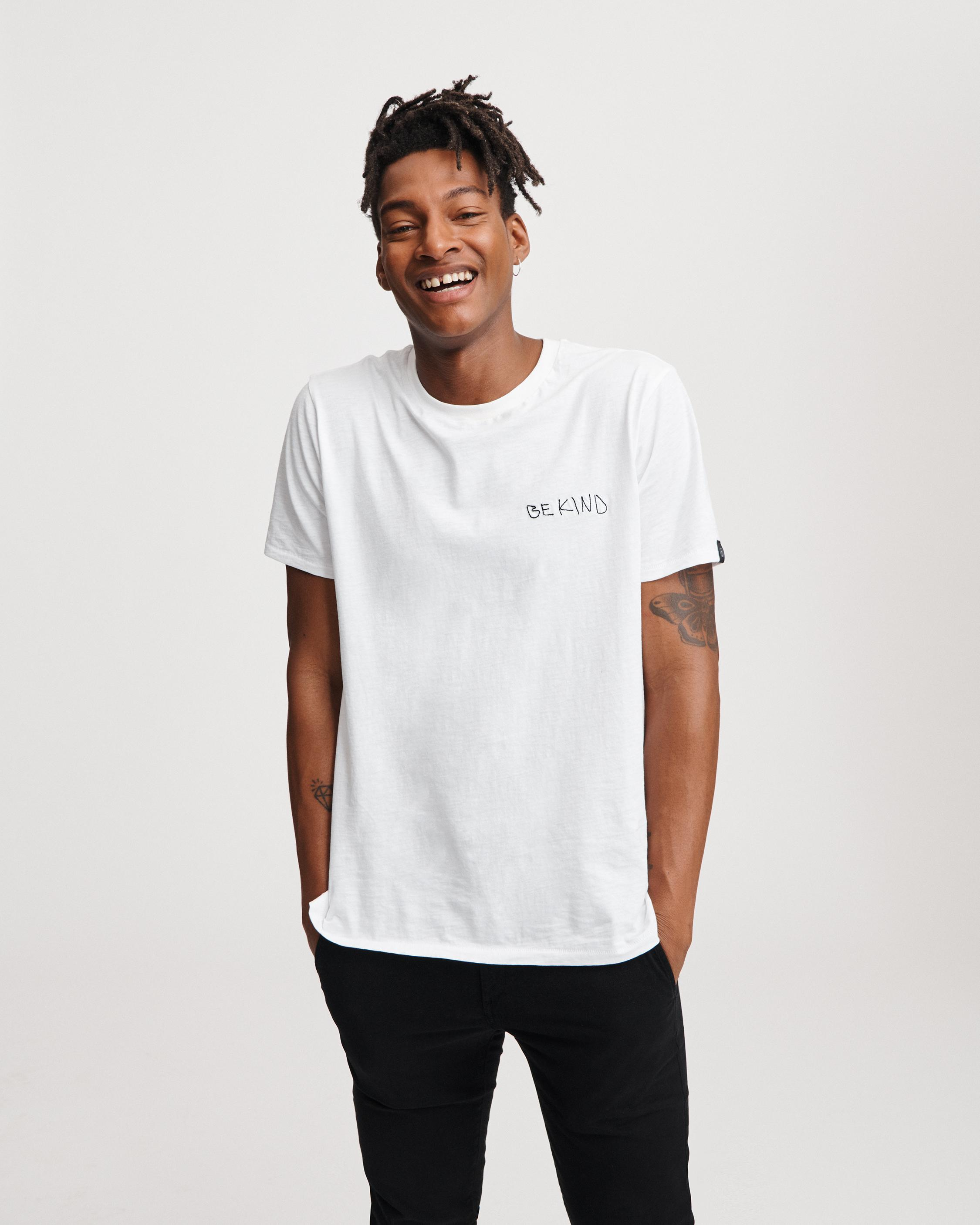 BE KIND EMBROIDERY TEE