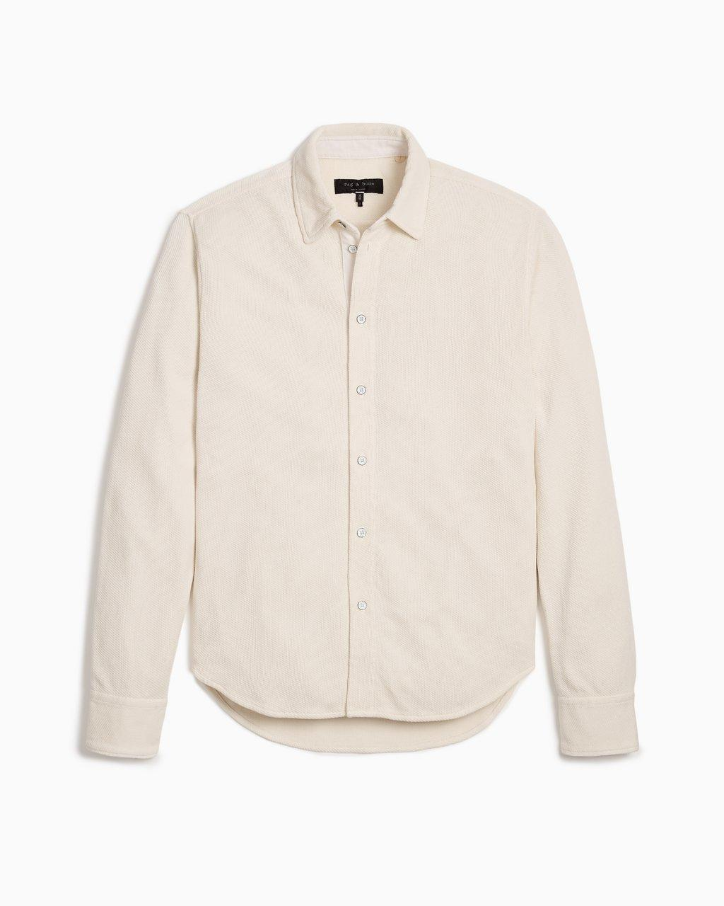 Baron Knit Button-Down