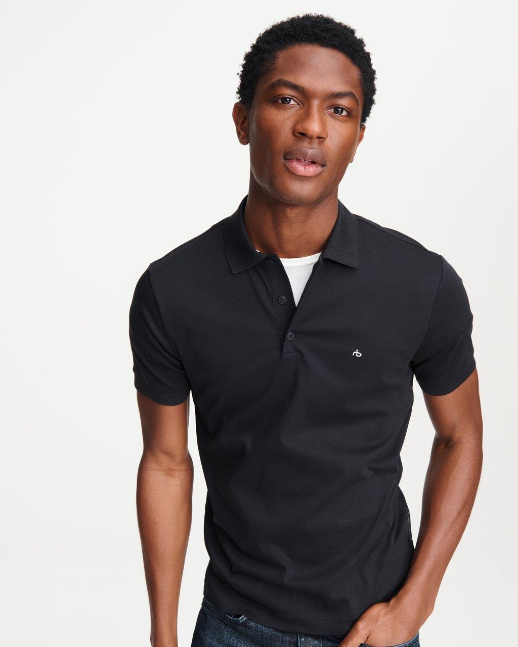 SHORT SLEEVE INTERLOCK POLO