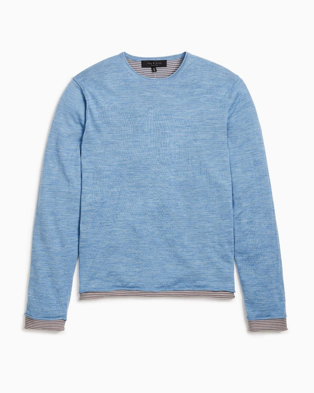 Reversible Palmer Cotton Crew