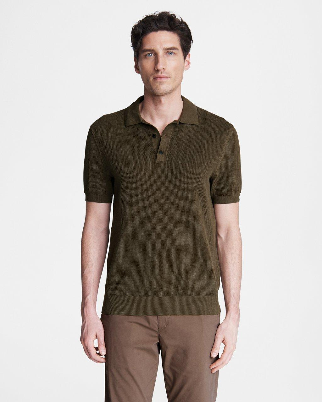Hemp Cotton Pique Polo