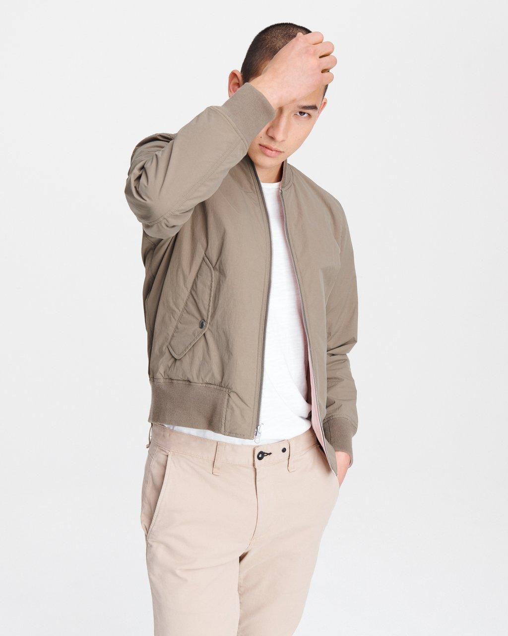 Reversible Manston Nylon Bomber Jacket
