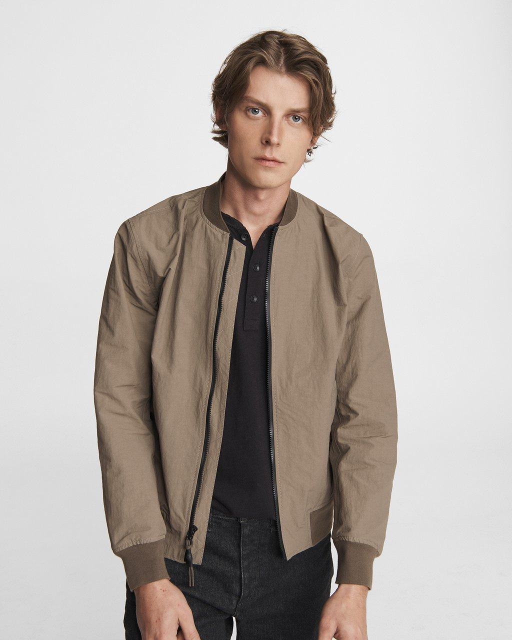 Precision Nylon Bomber Jacket