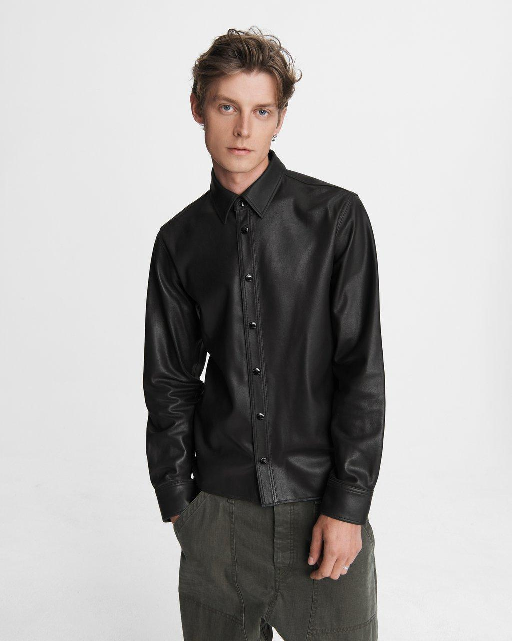 Lucas Shirt - Leather