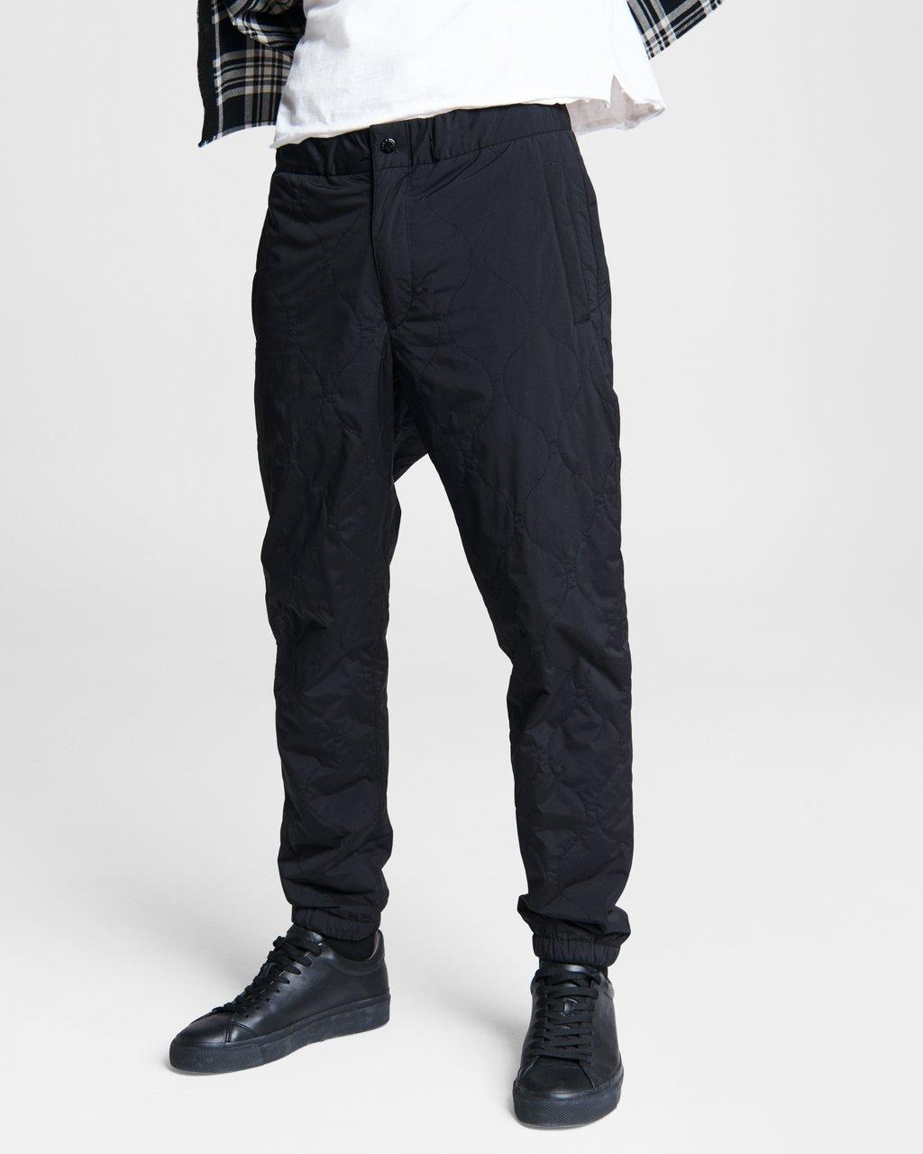 Quilted Drake Stretch Nylon Pant