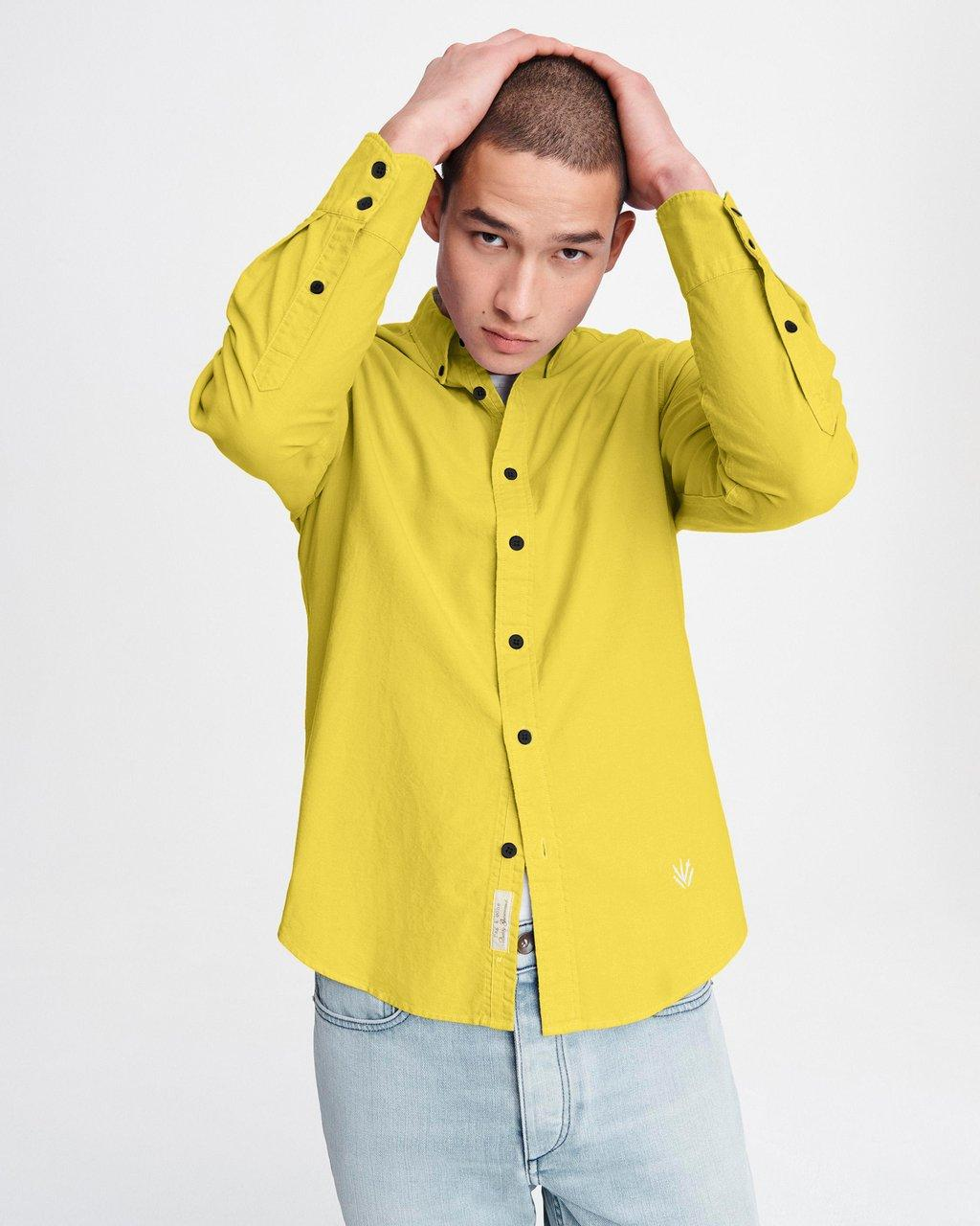 Fit 2 Tomlin Oxford Shirt - Cotton