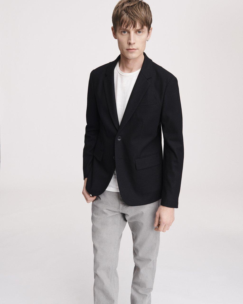 Deconstructed Razor Wool Blazer