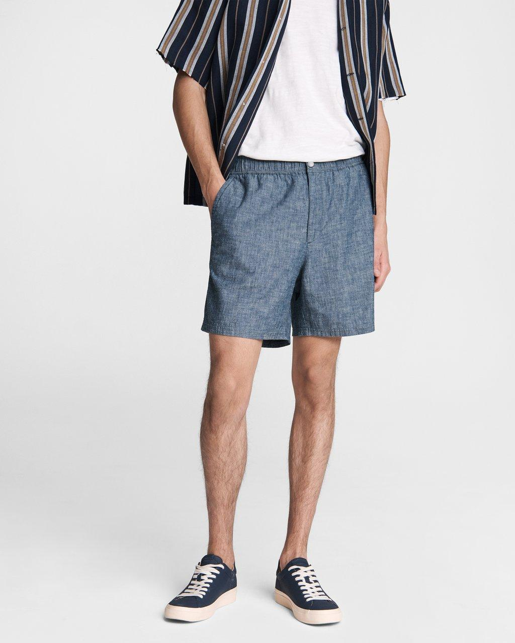 Eaton Pull On Chambray Short