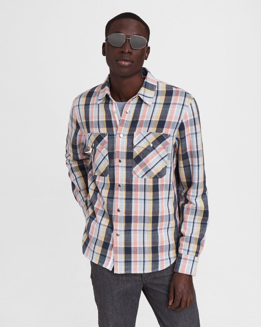 Plaid Cotton Jack Shirt