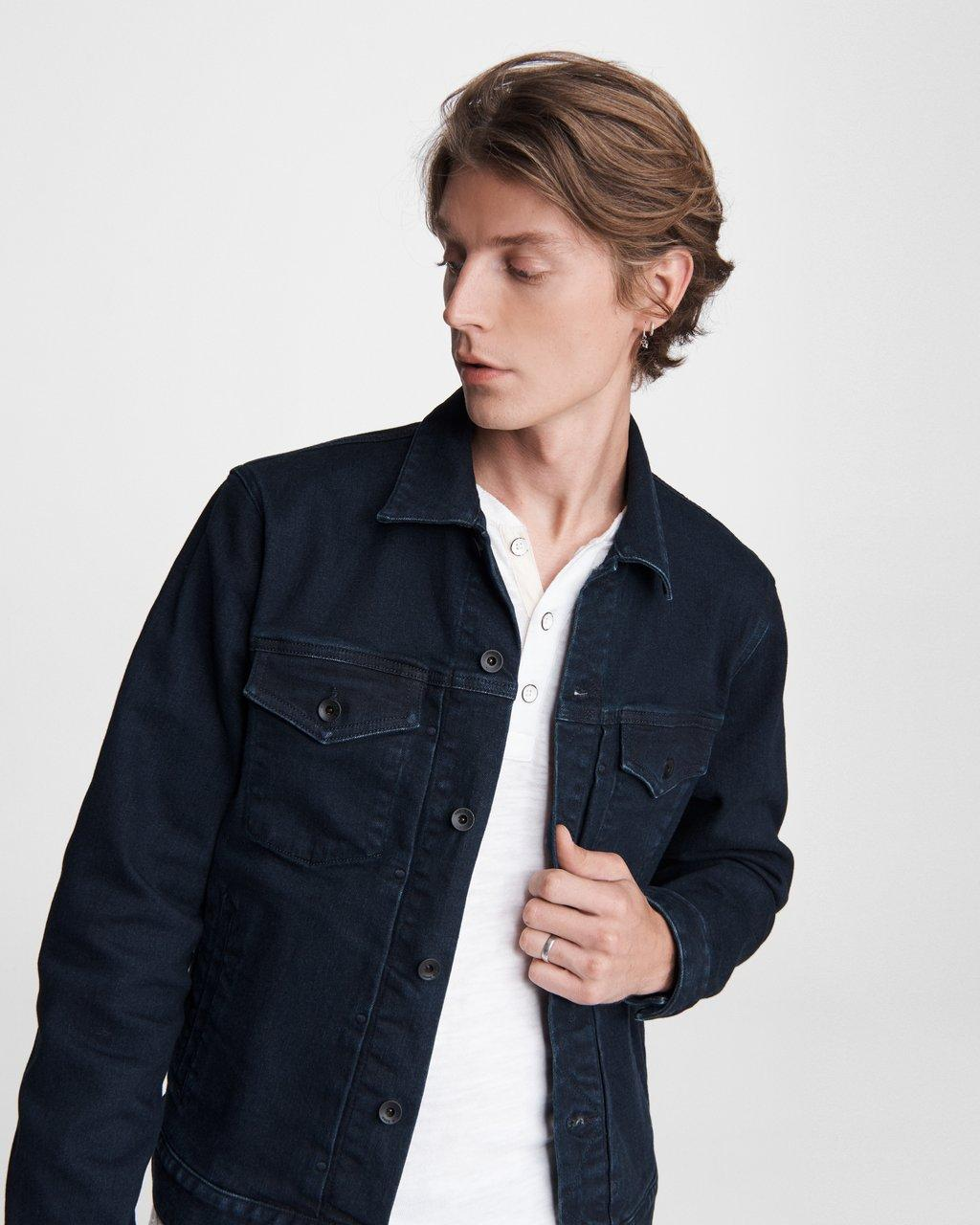 Definitive Cotton Cashmere Jean Jacket