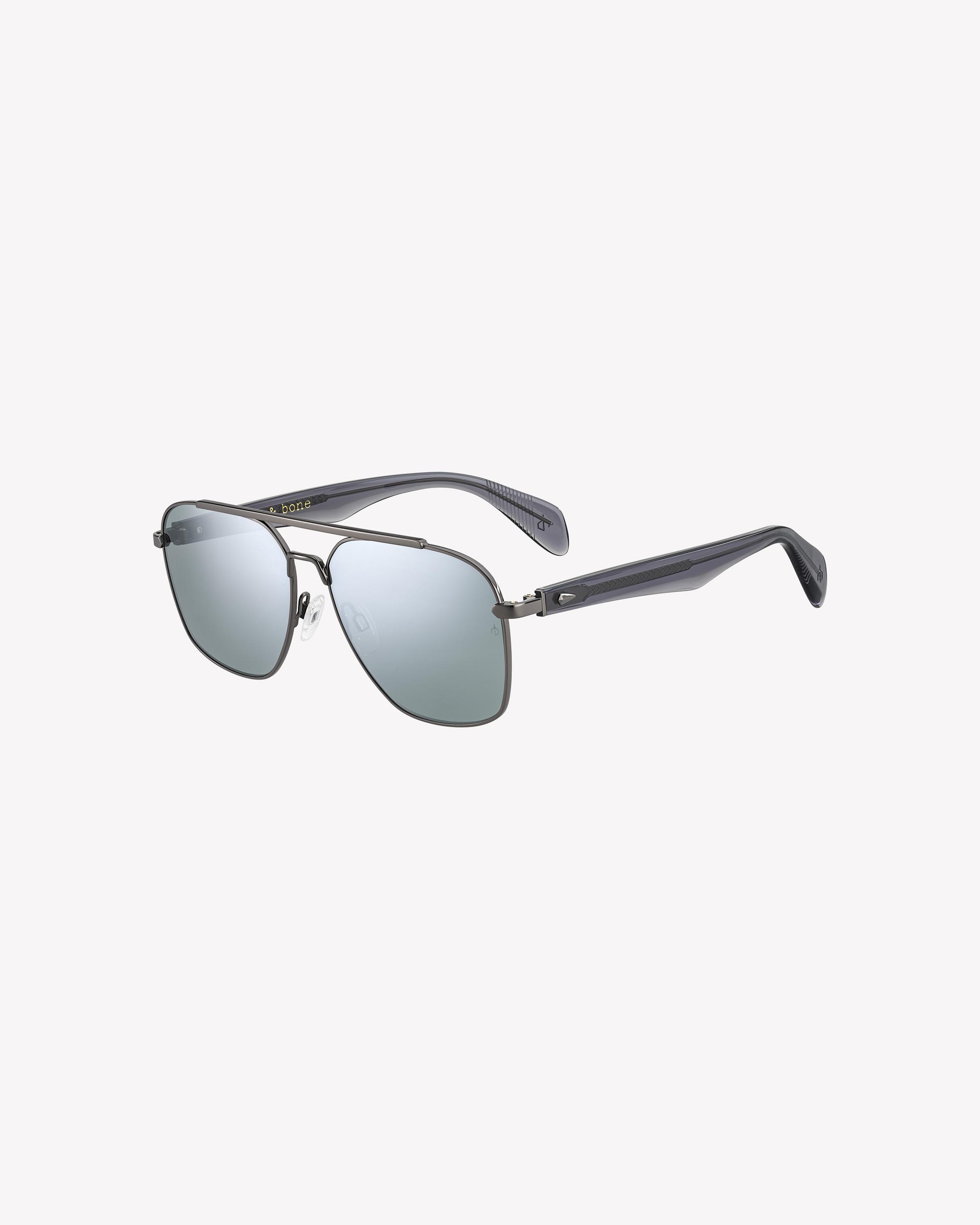 2ba558b7a7 Falco. Balenciaga Black Thin Rectangular Sunglasses ( 460) ❤ liked on Polyvore  featuring accessories ...
