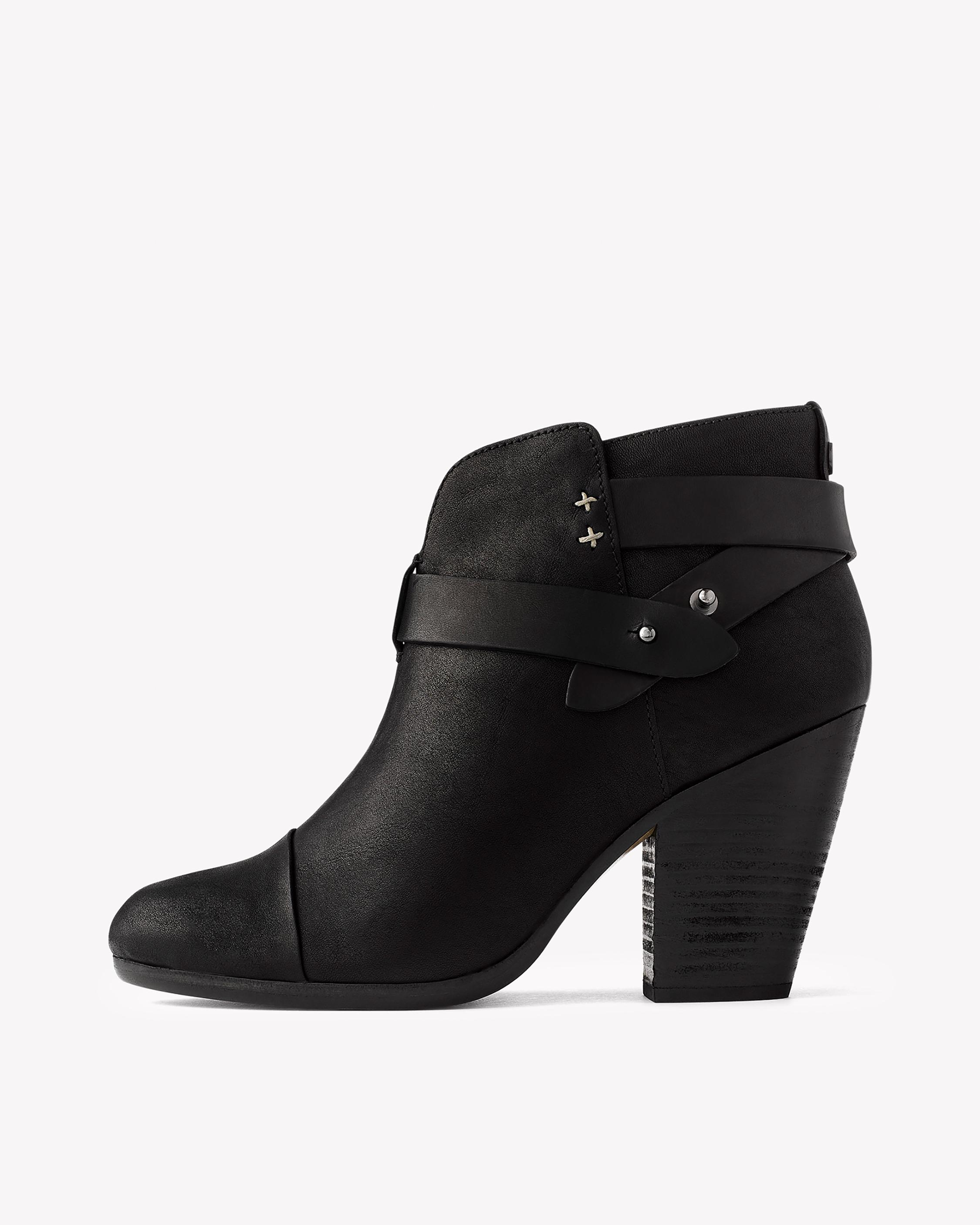 Rag & Bone Leather Peep-Toe Ankle Boots discount online under $60 cheap price buy cheap price d1LN16p5Y