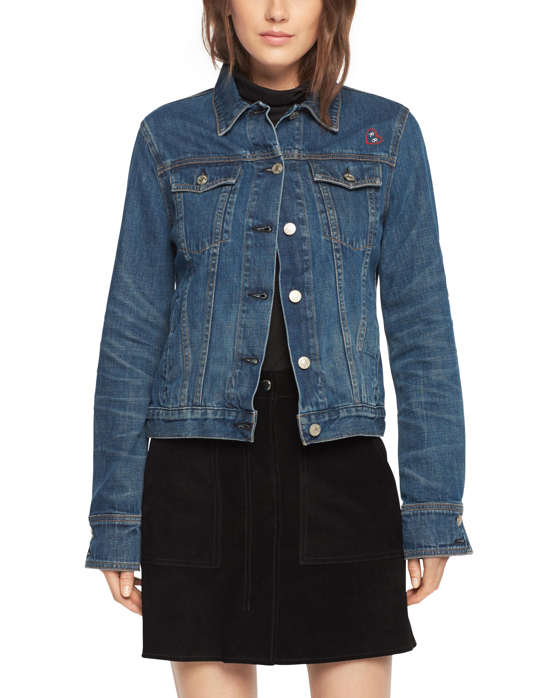 Best Selling Rag & Bone Button-Up Denim Jacket Clearance For Cheap iYSrC