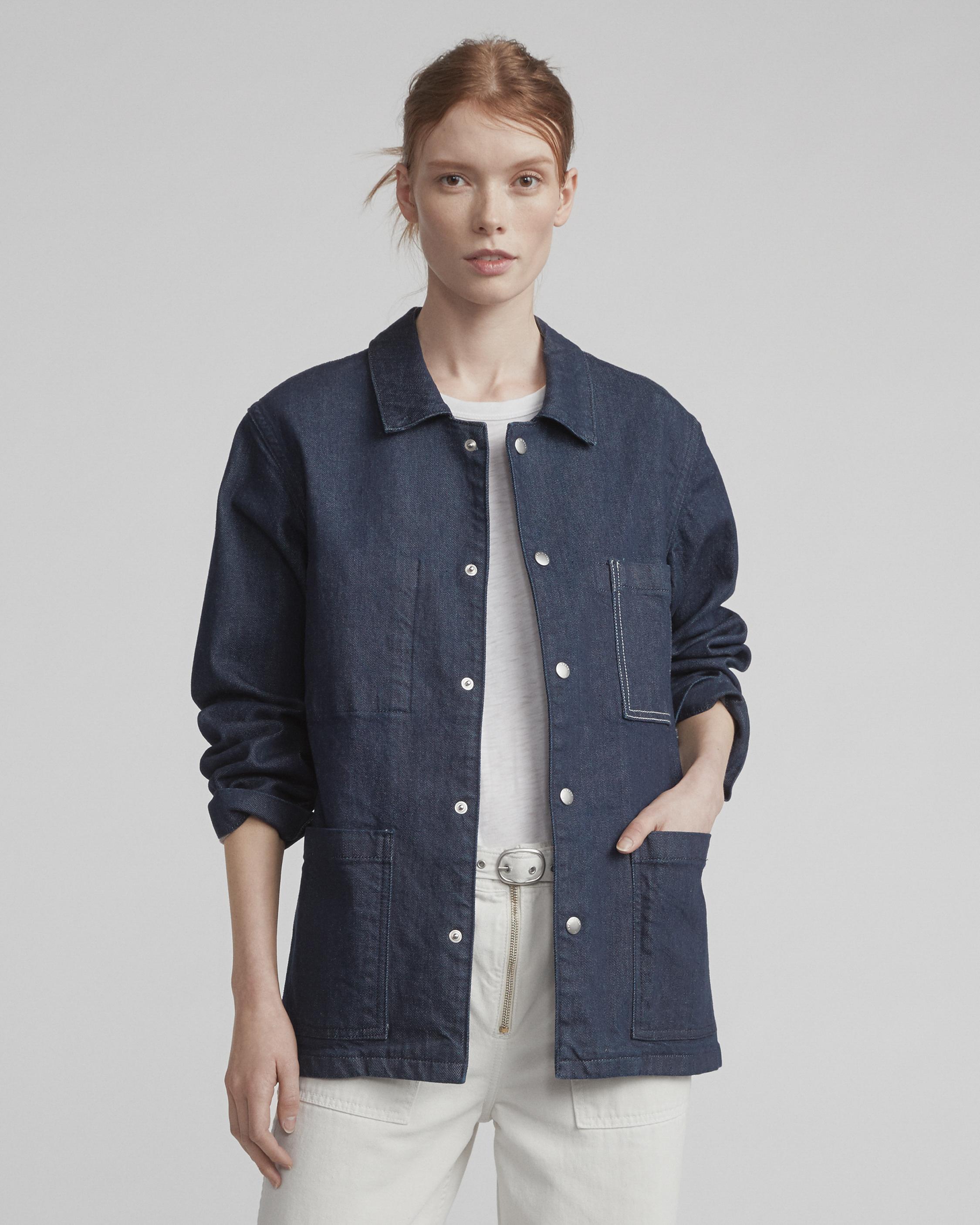 Rag & Bone Woman Cotton Coat Blue Size XXS Rag & Bone Fast Delivery Cheap Online uSSkMbIyT