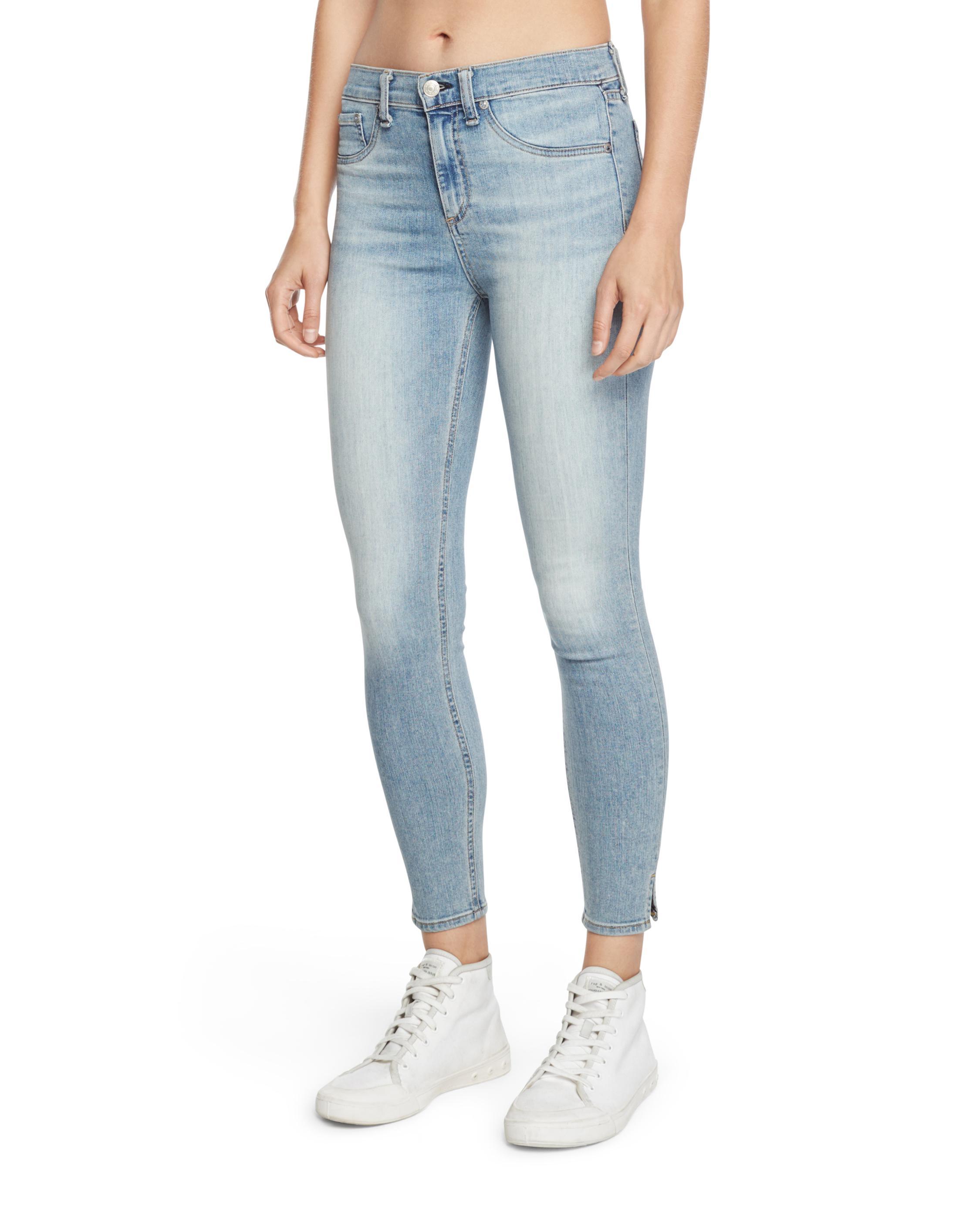 6bfc3dee46b 10 Inch Capri With Slit   Women Jeans   rag & bone