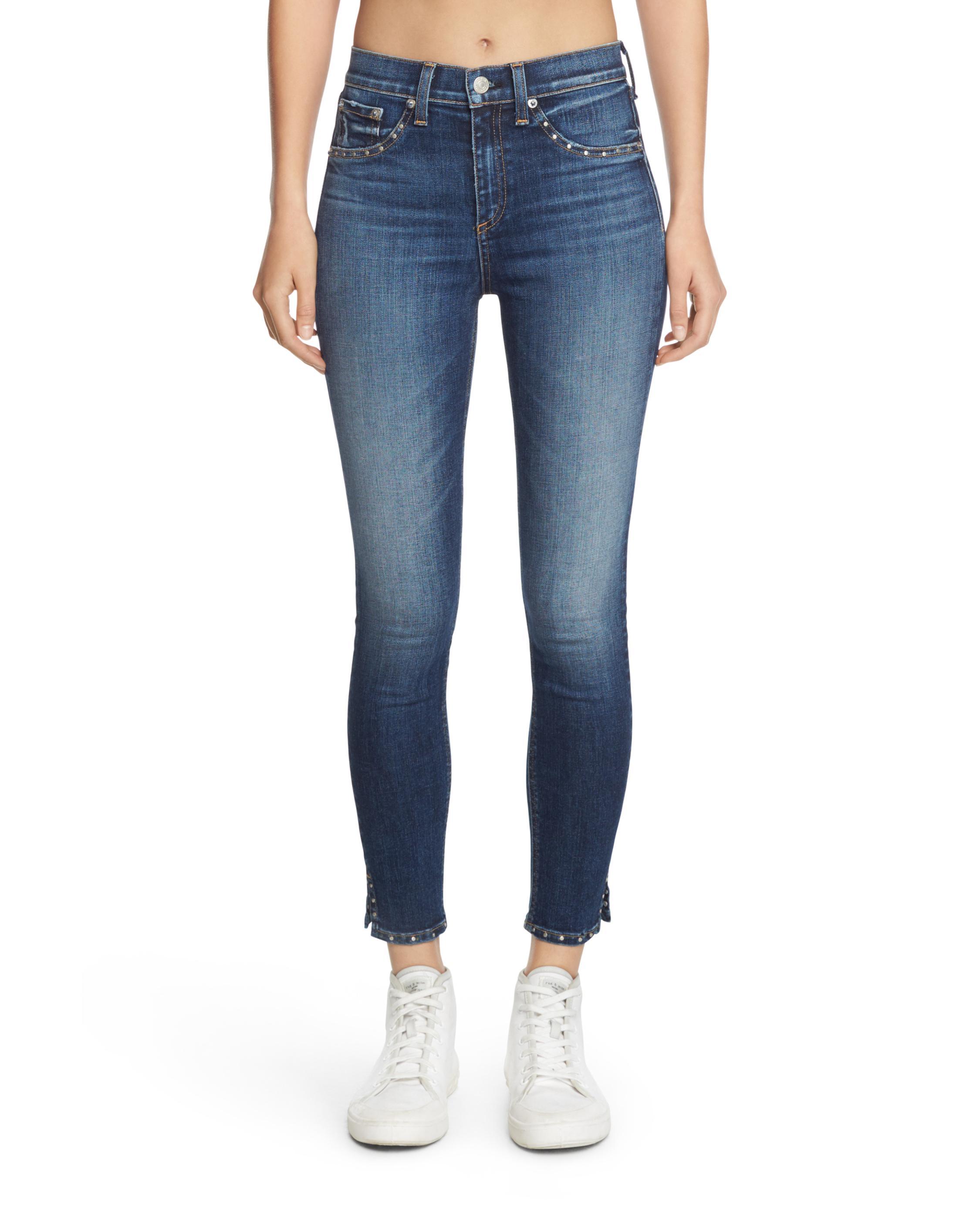 35849a9c699 10 Inch Capri W/ Slit   Women Jeans   rag & bone