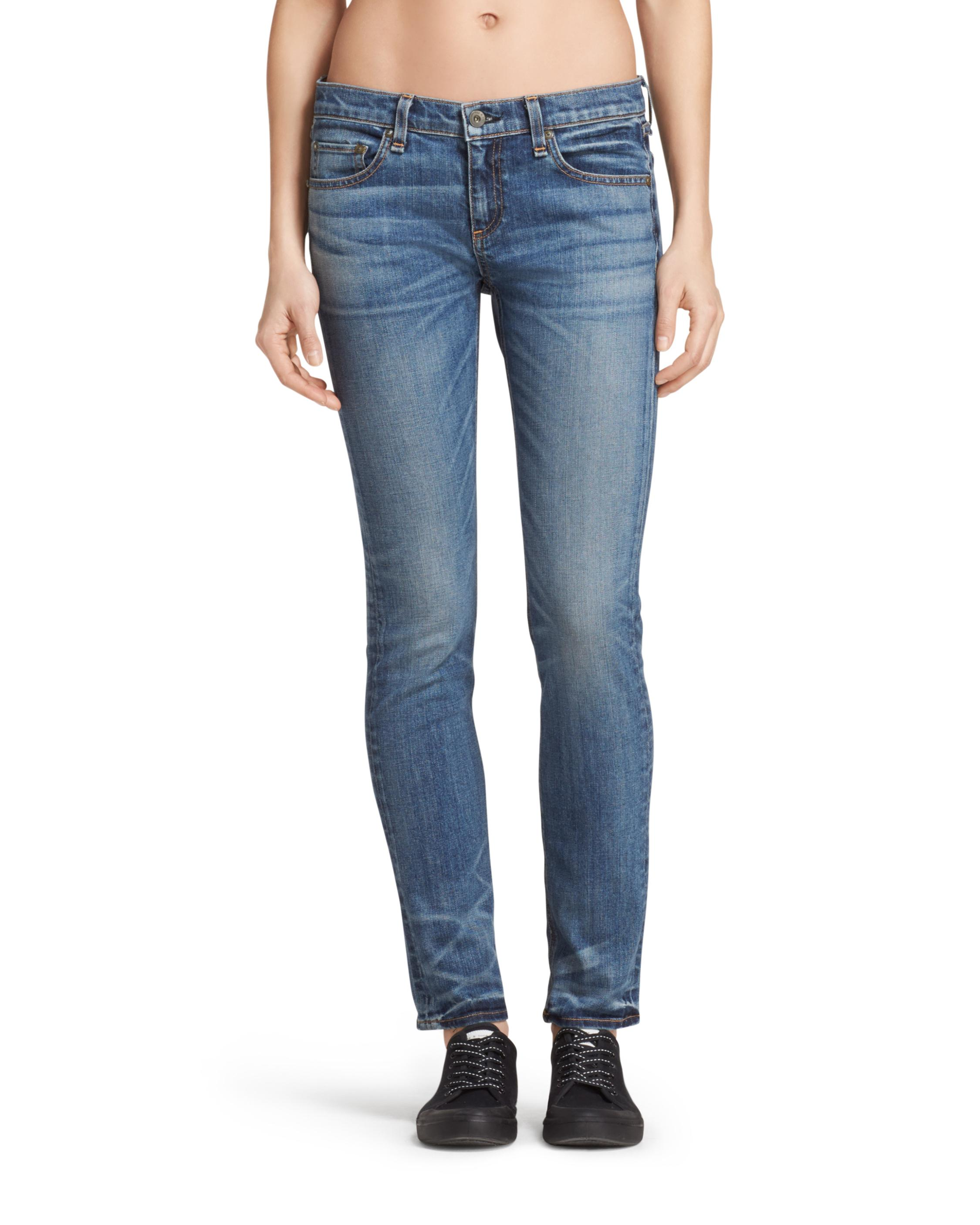 slim-fit jeans - Blue Rag & Bone Largest Supplier For Sale Buy Cheap In China Outlet Store Locations Best Prices Cheap Price pUMqD8N