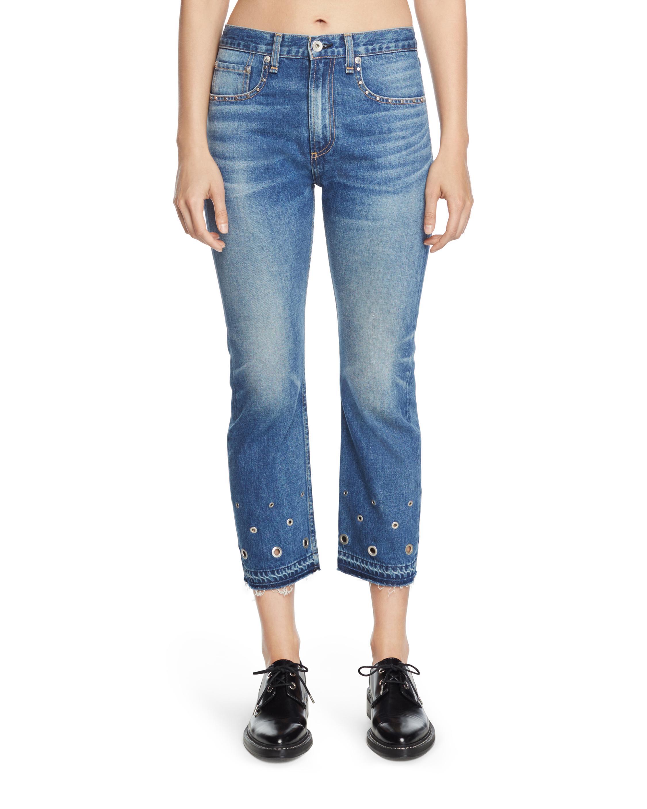 skinny cropped jeans - Blue Rag & Bone 3WyS6