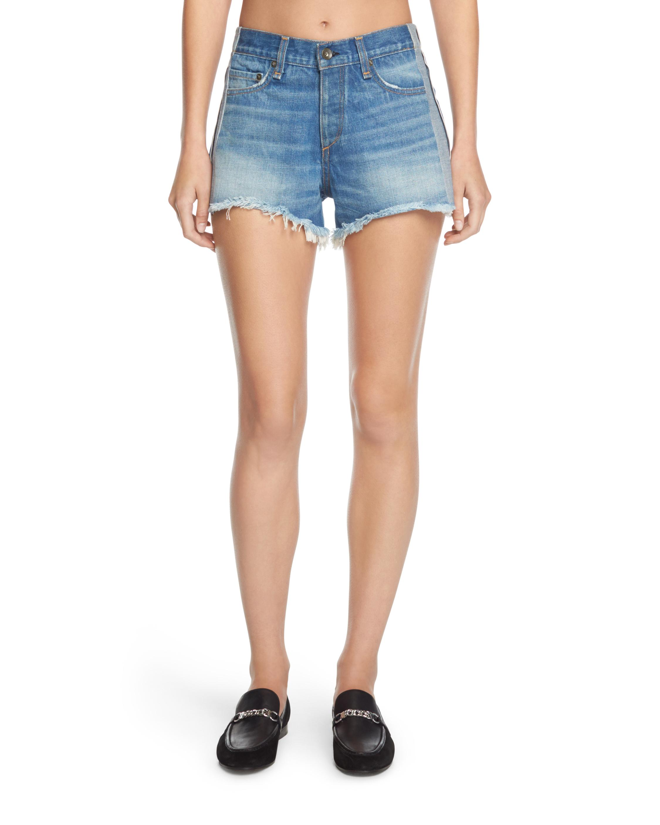 Looking For Sale Online Sale Discounts Rag & Bone Mid-Rise Distressed Shorts Websites Sale Online Buy For Sale IDntR03