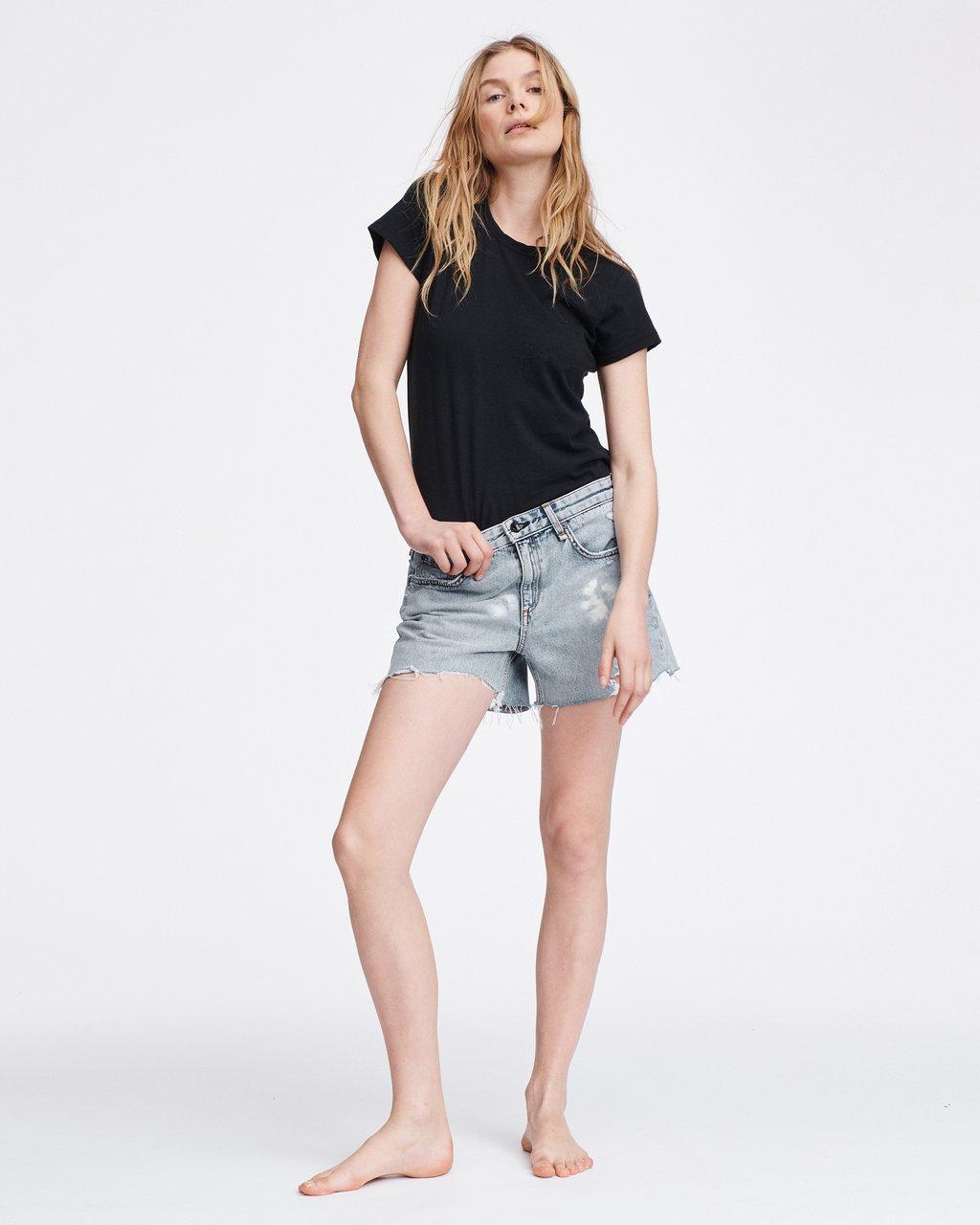 DRE LOW-RISE BOYFRIEND SHORT