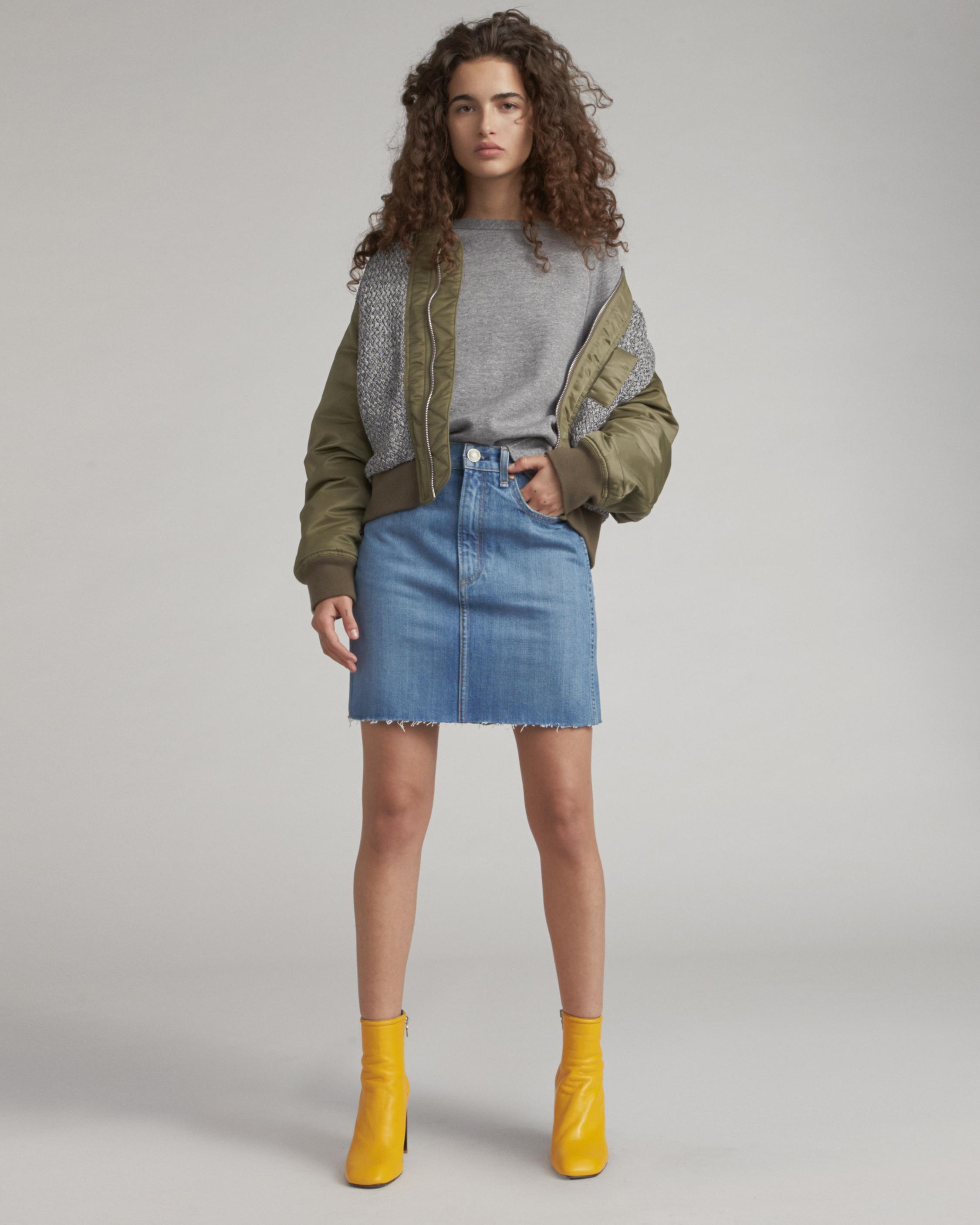 Moss Skirt Rag & Bone Finishline Cheap Online fAdasLkb
