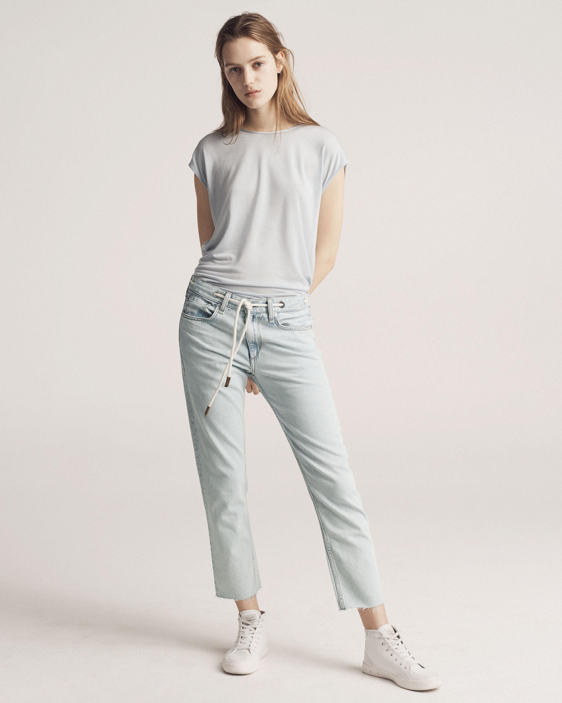 Enjoy For Sale Fashion Style Cheap Price Rocklyn cropped jeans Rag & Bone Outlet Fake PqAtVT