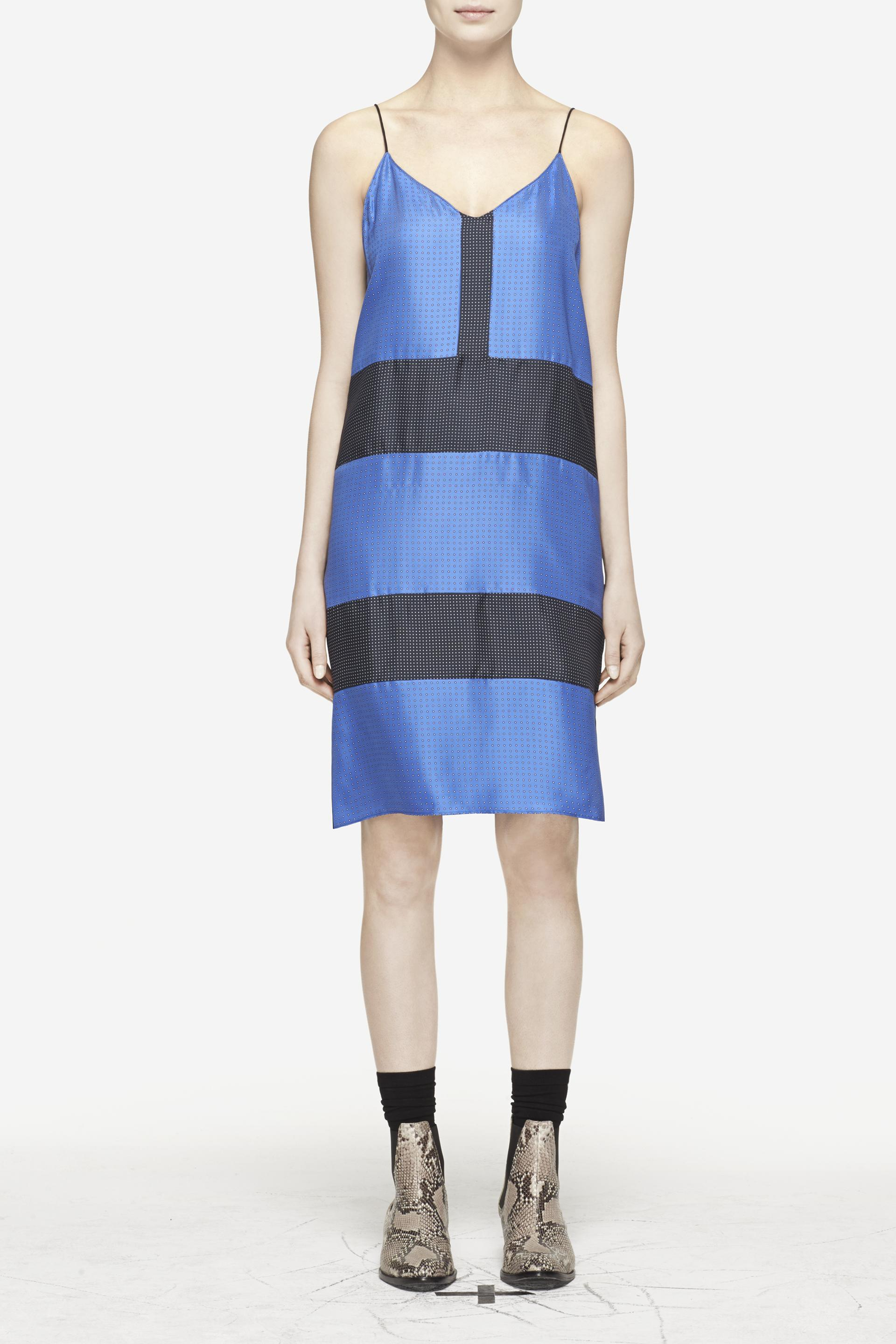 Really Cheap Price Rag & Bone Colorblock Silk Top Cheap Official Sast Cheap Online Free Shipping How Much Low Shipping Fee Sale Online xszXyZy1Fr