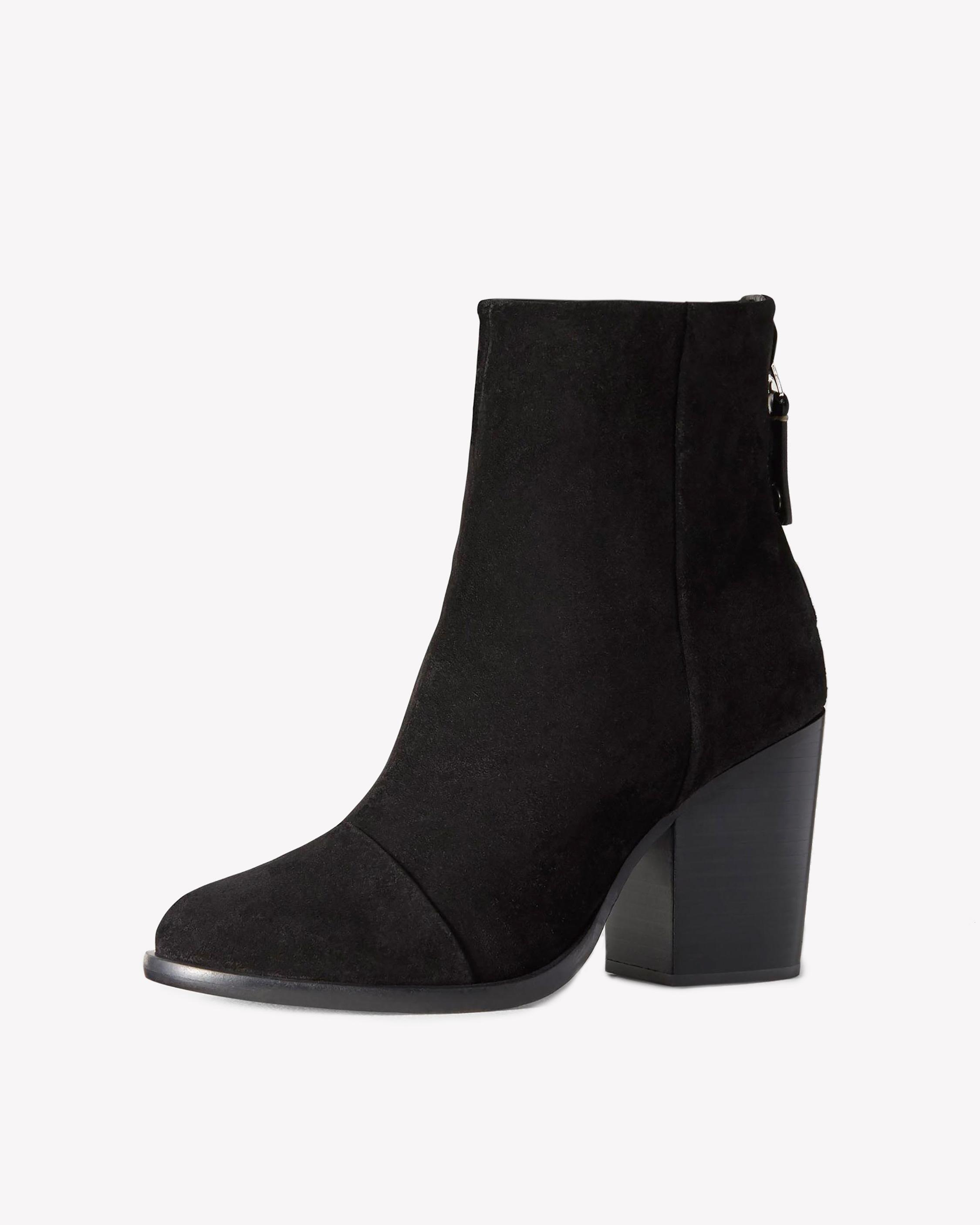 Ashby Ankle Boot - BLACK SUEDE | rag & bone