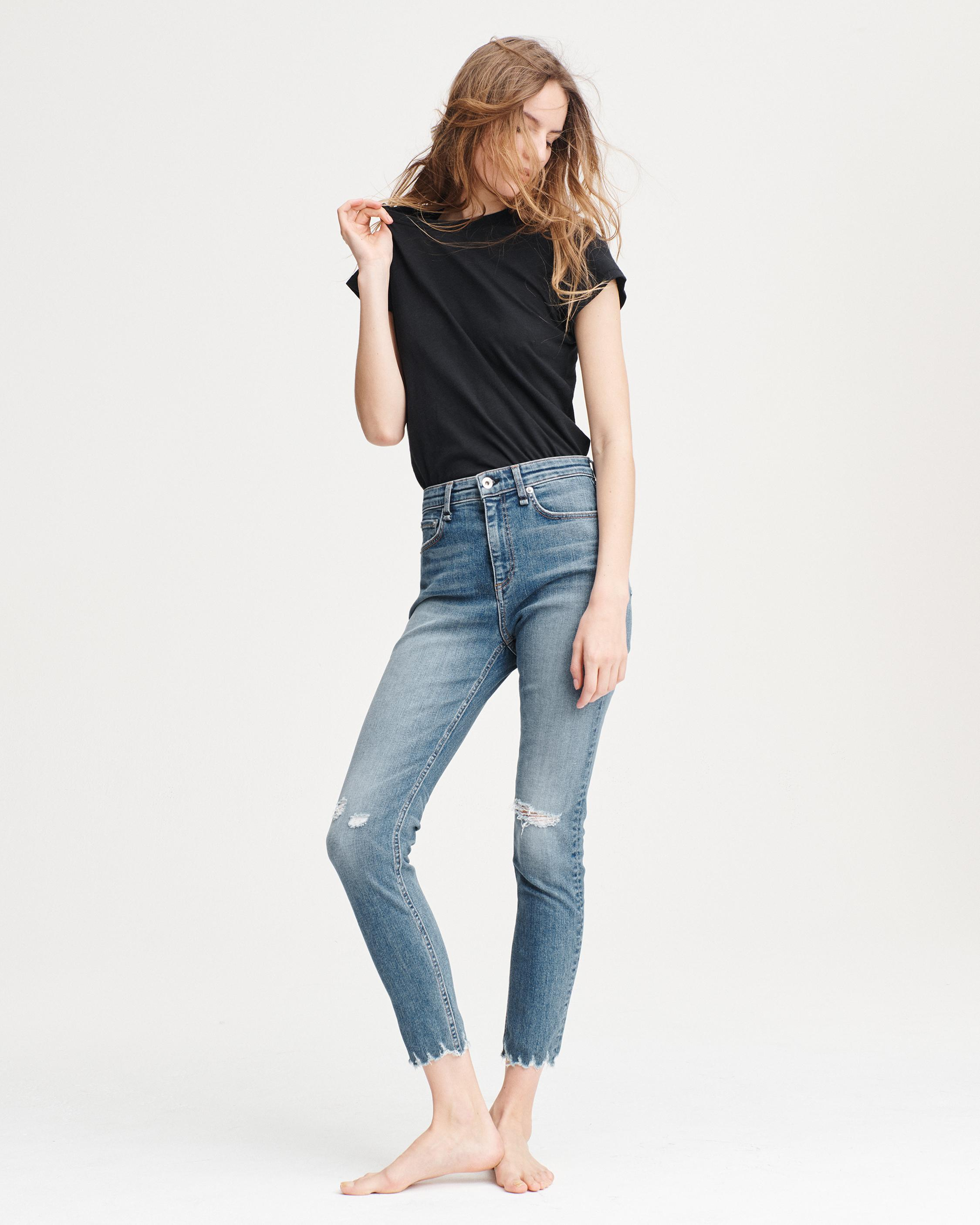 NINA HIGH-RISE ANKLE SKINNY