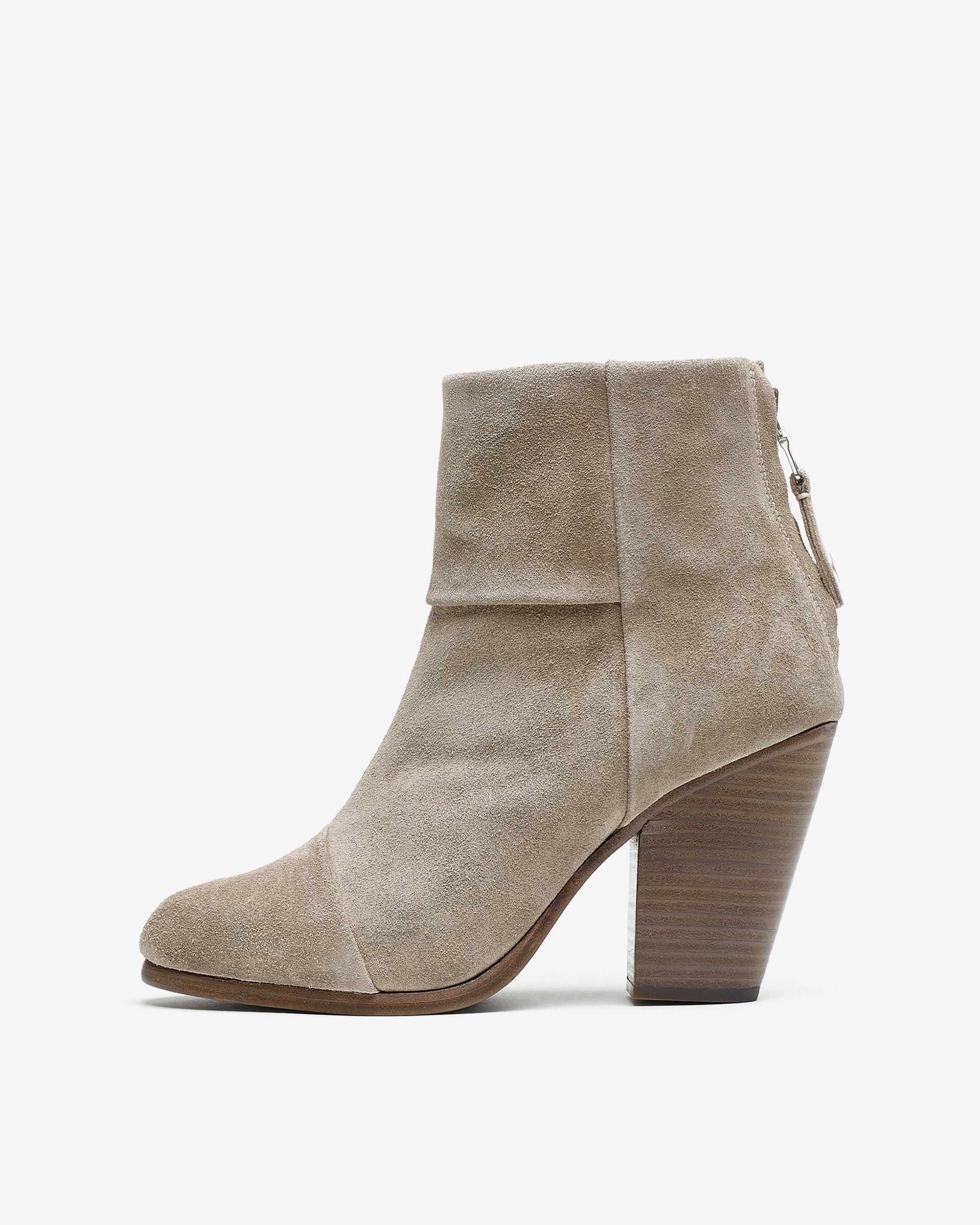 Rag and Bone Rag & Bone Grey Suede Classic Newbury Boots