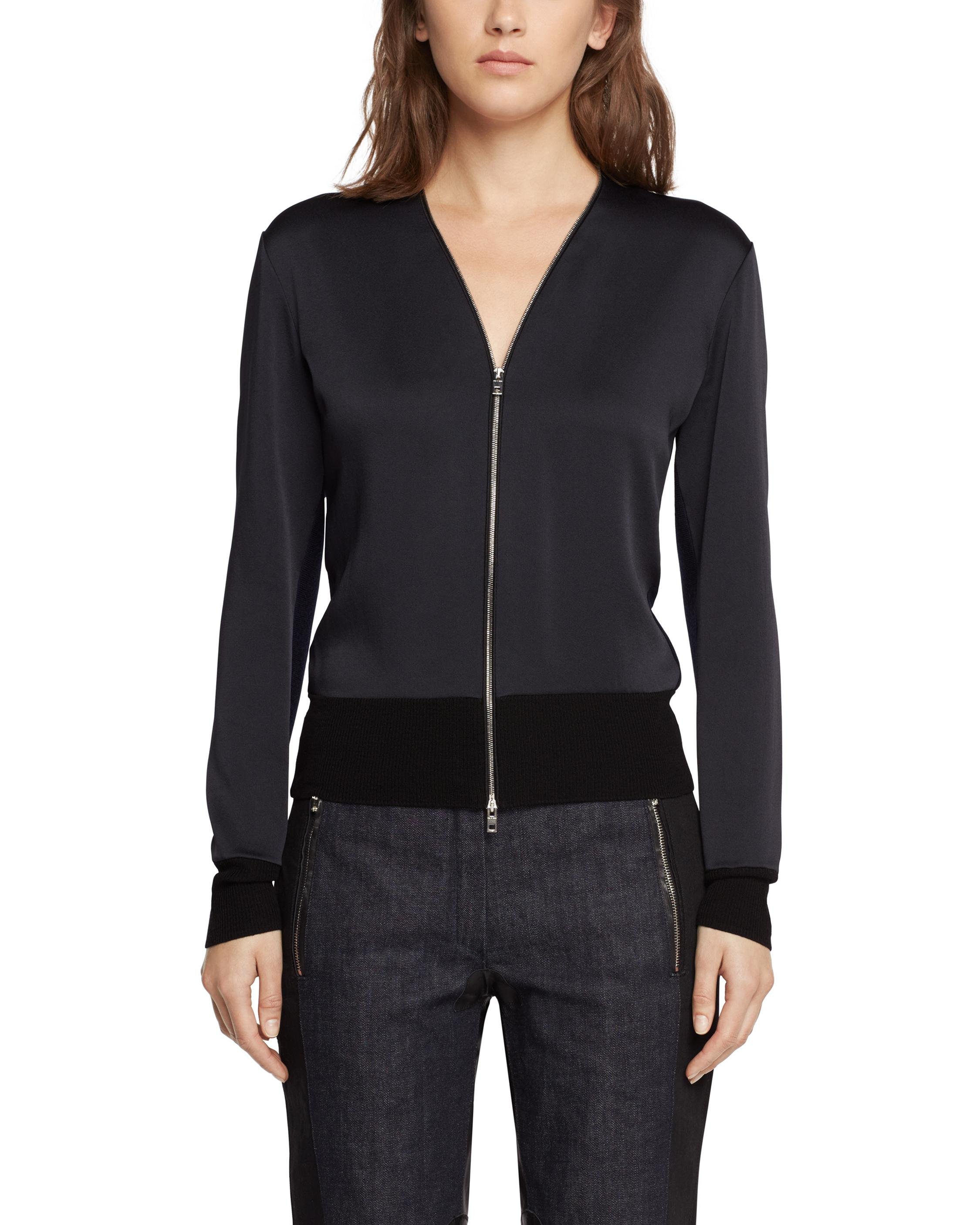 Rag & Bone Long Sleeve Zip-Up Jacket Big Discount Cheap Hot Sale oOzFe1kyZy