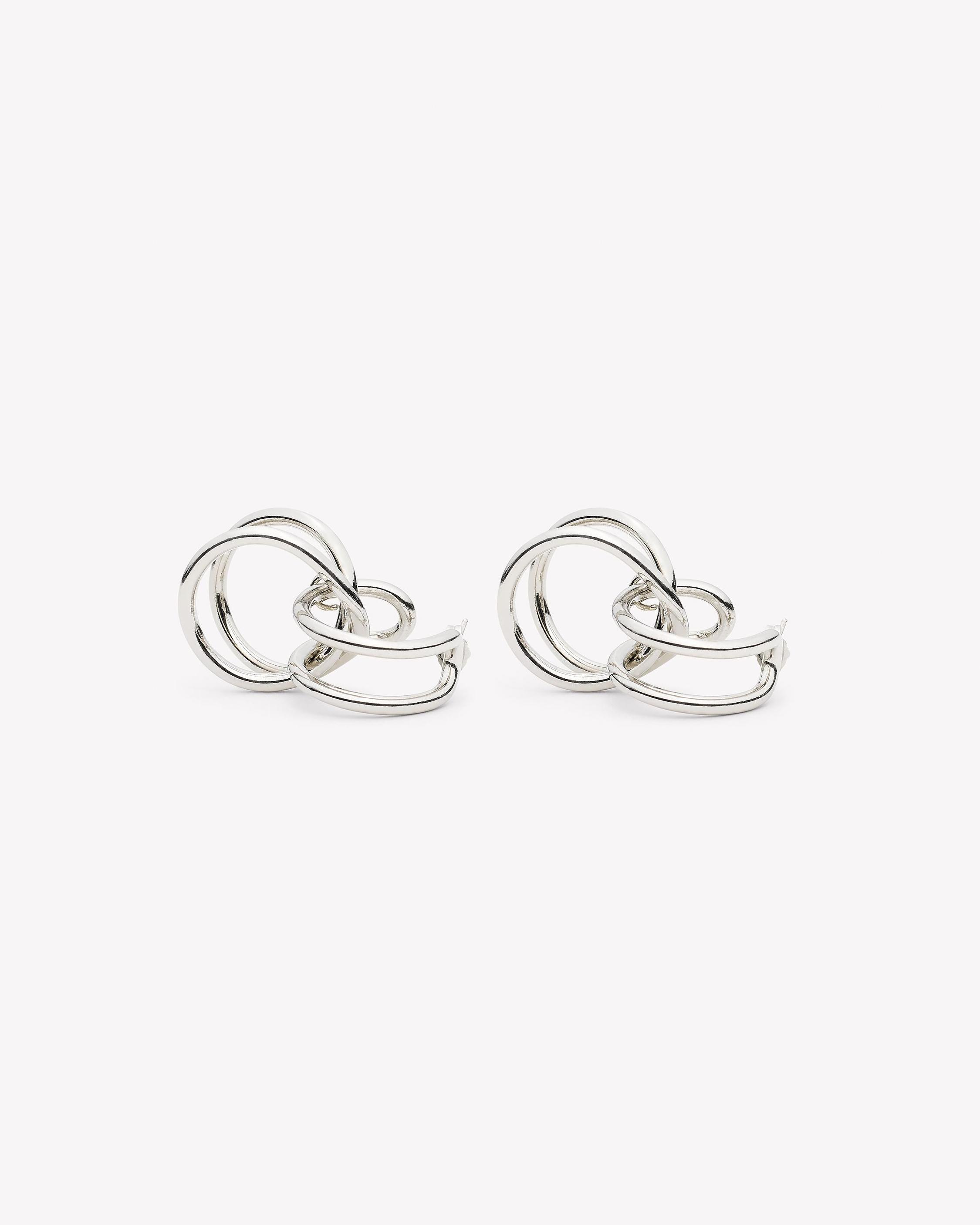 infinity by bestie rachna jewels silver earrings collection shop textured love