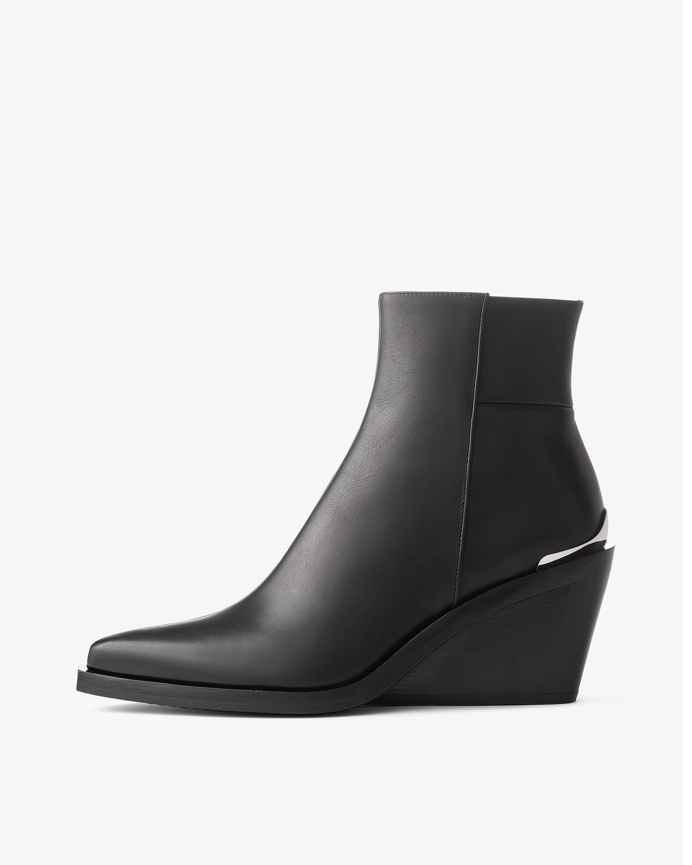 Rag & Bone Woman Buckled Leather Boots Dark Brown Size 35 Rag & Bone bAdsgKC8
