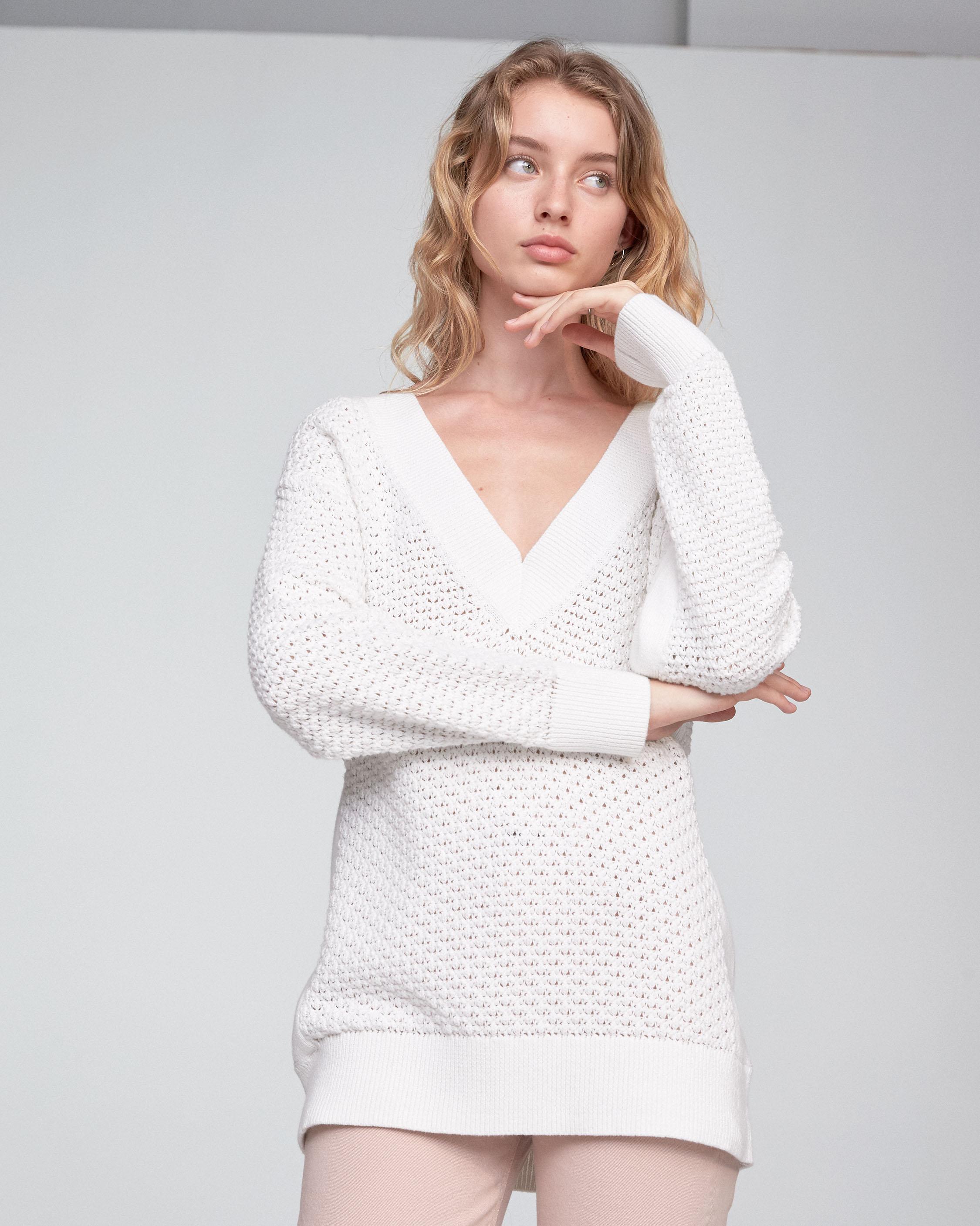 Great Deals White Kyra V-Neck Rag & Bone For Cheap Sale Online hx0pjos