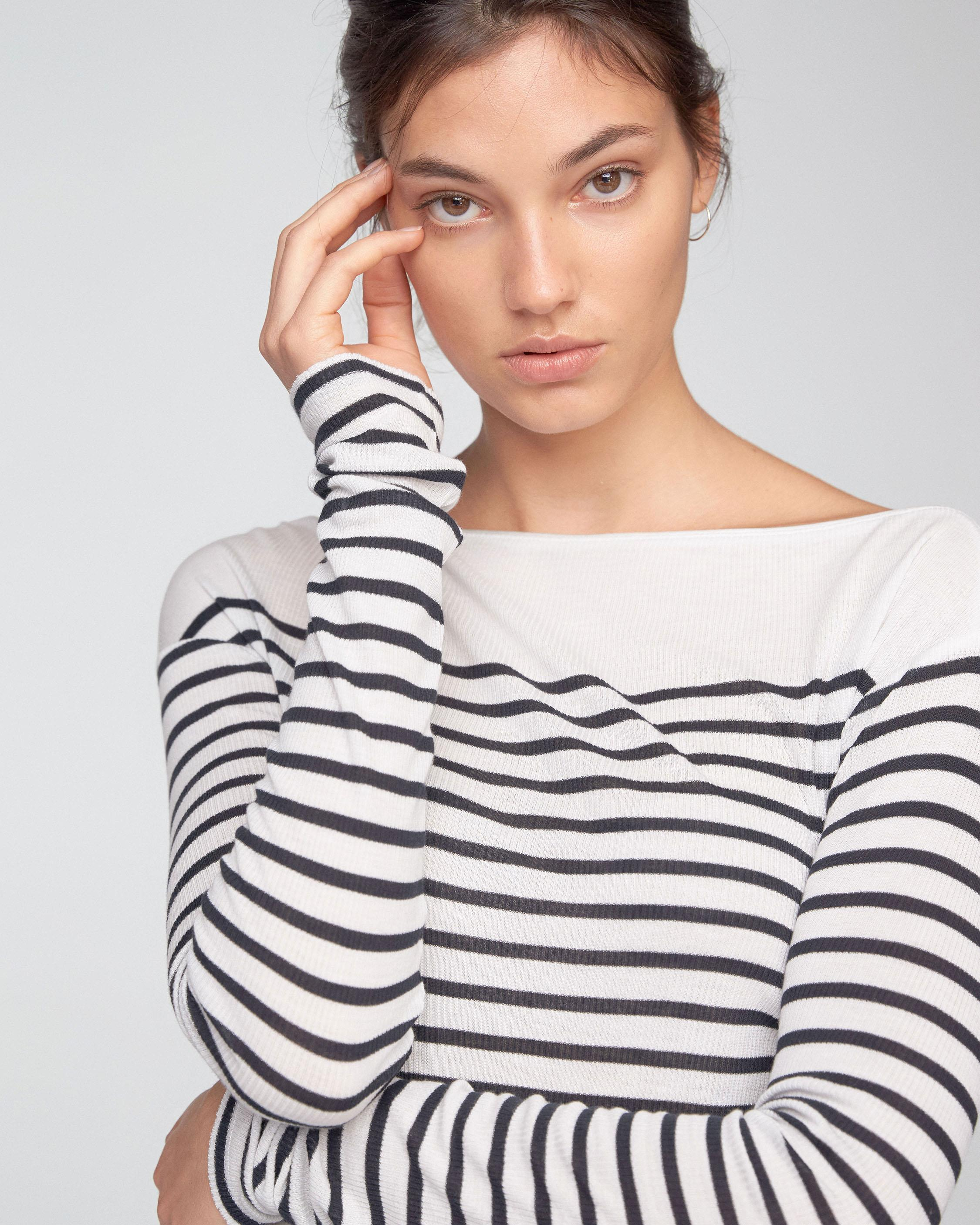 STRIPED MADISON LONGSLEEVE
