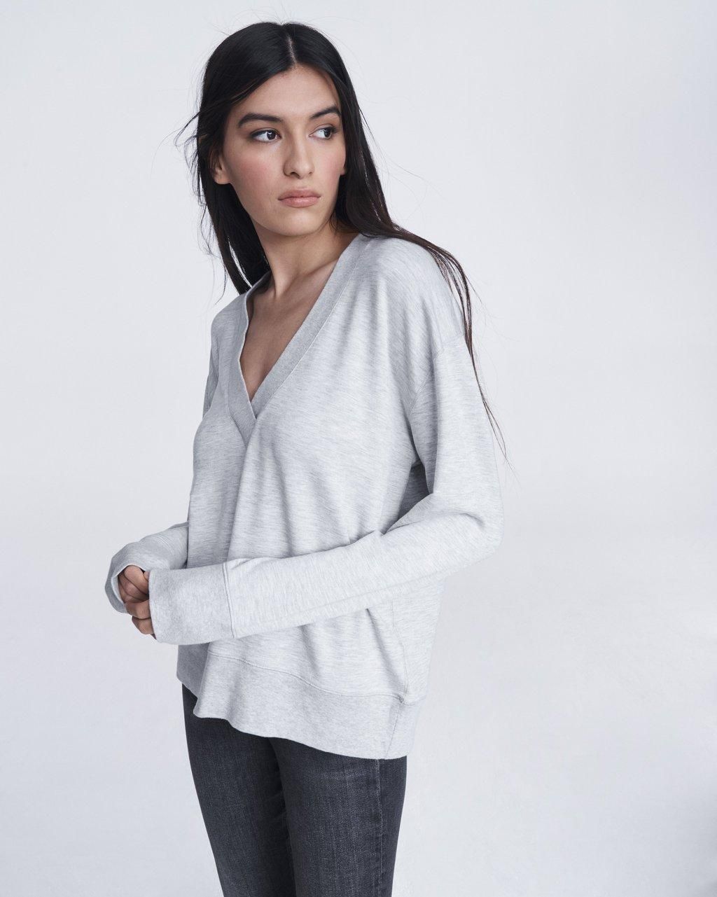 Flora Cozy Jersey Pullover
