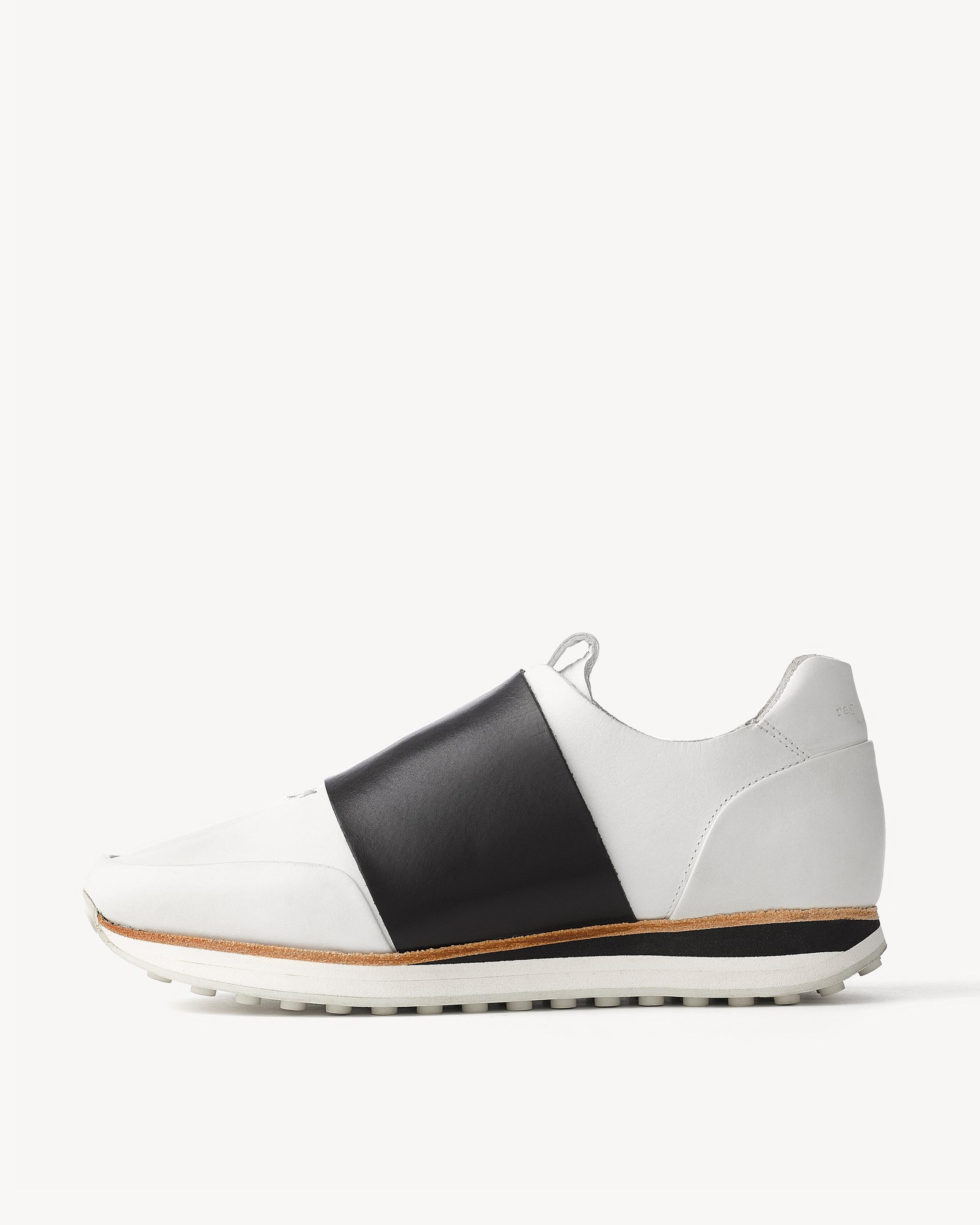 White and Black Dylan Elastic Runner Sneakers Rag & Bone Sale 2018 Outlet With Mastercard Under Sale Online Fashionable Cheap Price ctIwBB4W